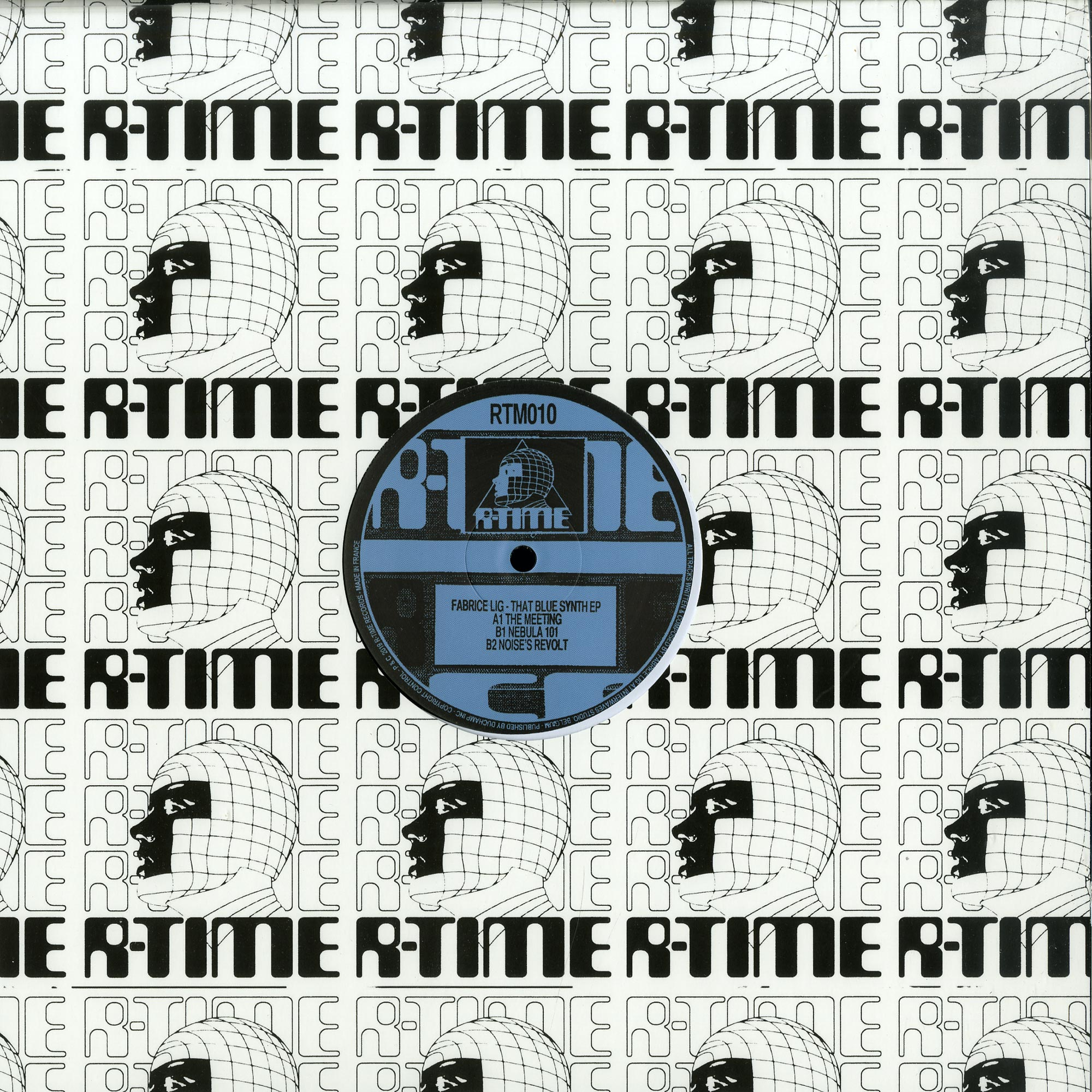 Fabrice Lig - THE BLUE SYNTH EP