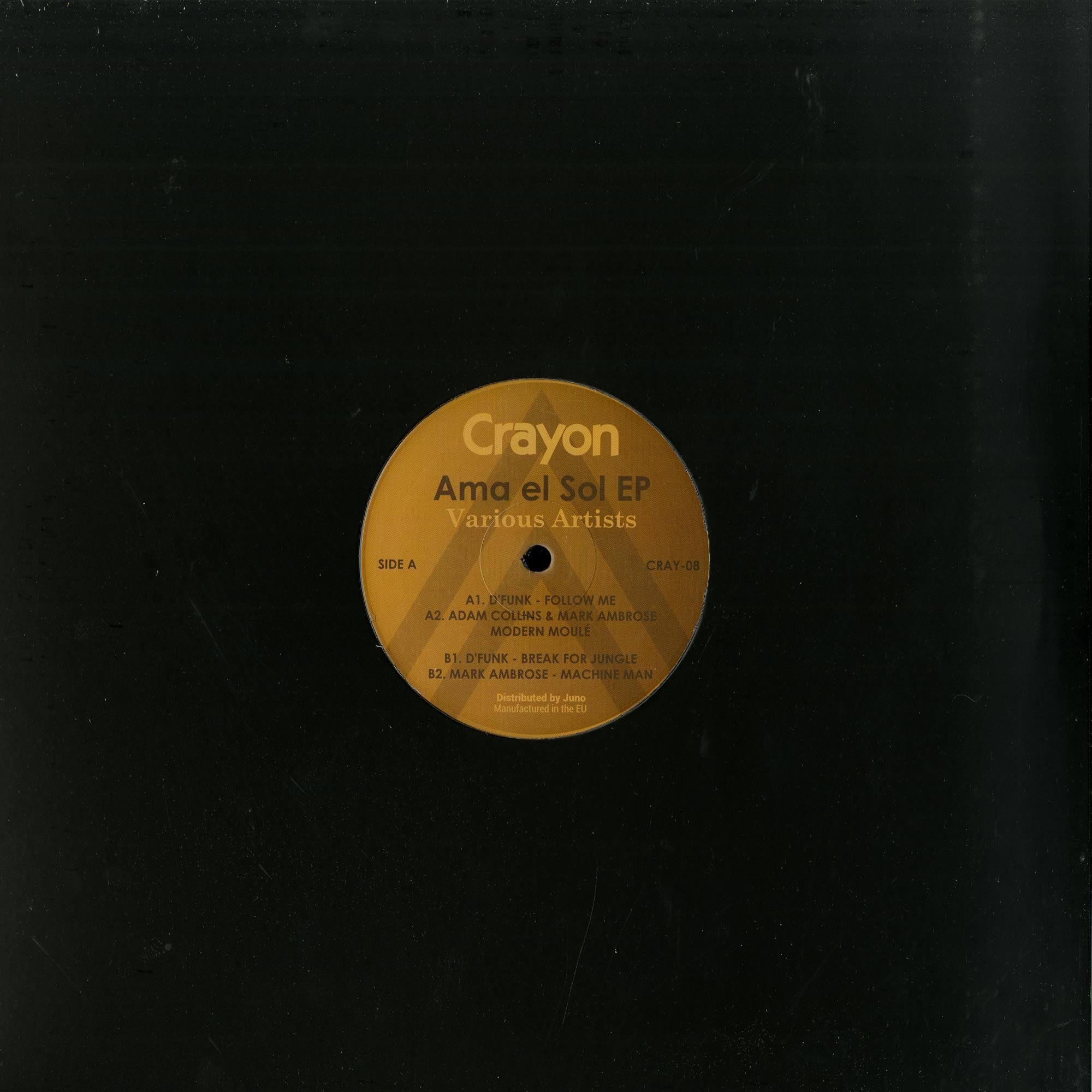 D Funk / Adam Collins / Mark Ambrose  - AMA DE SOL EP