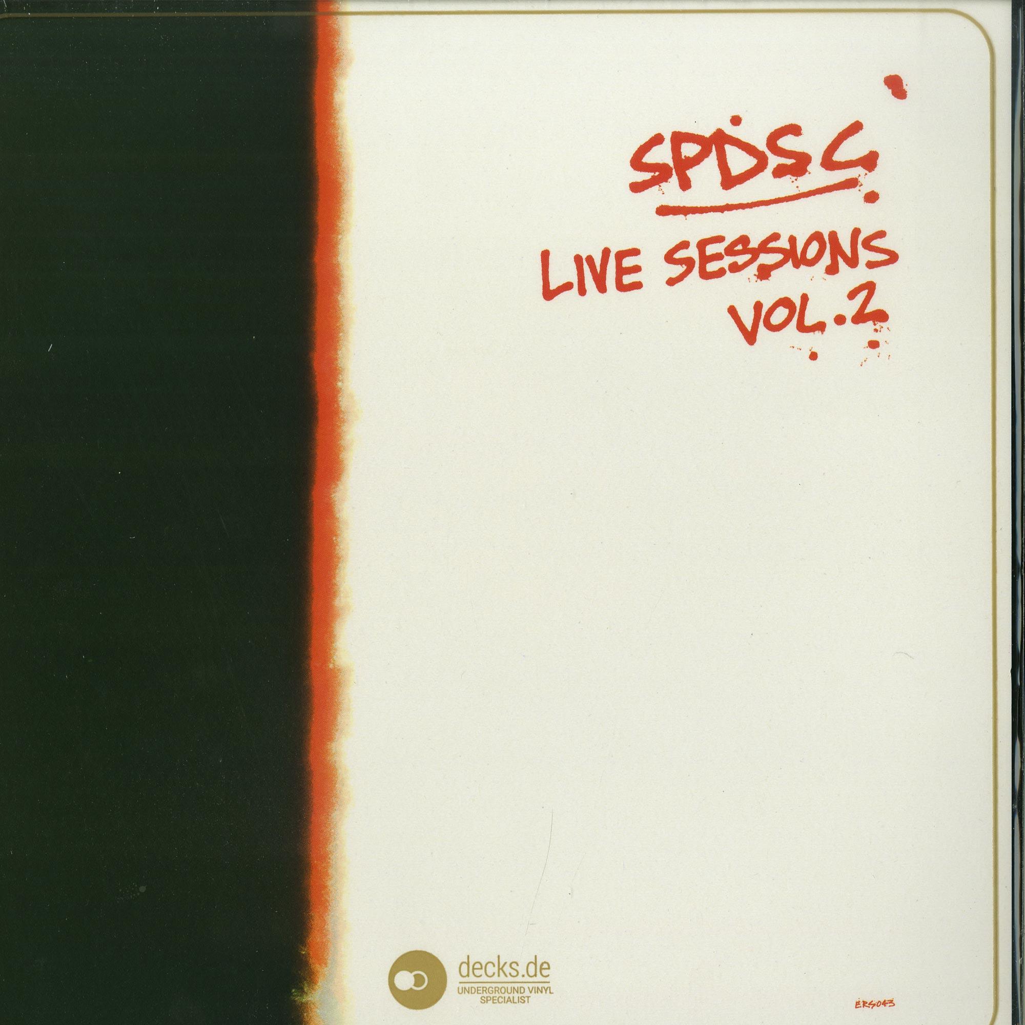 Saint Petersburg Disco Spin Club - LIVE SESSIONS VOL.2