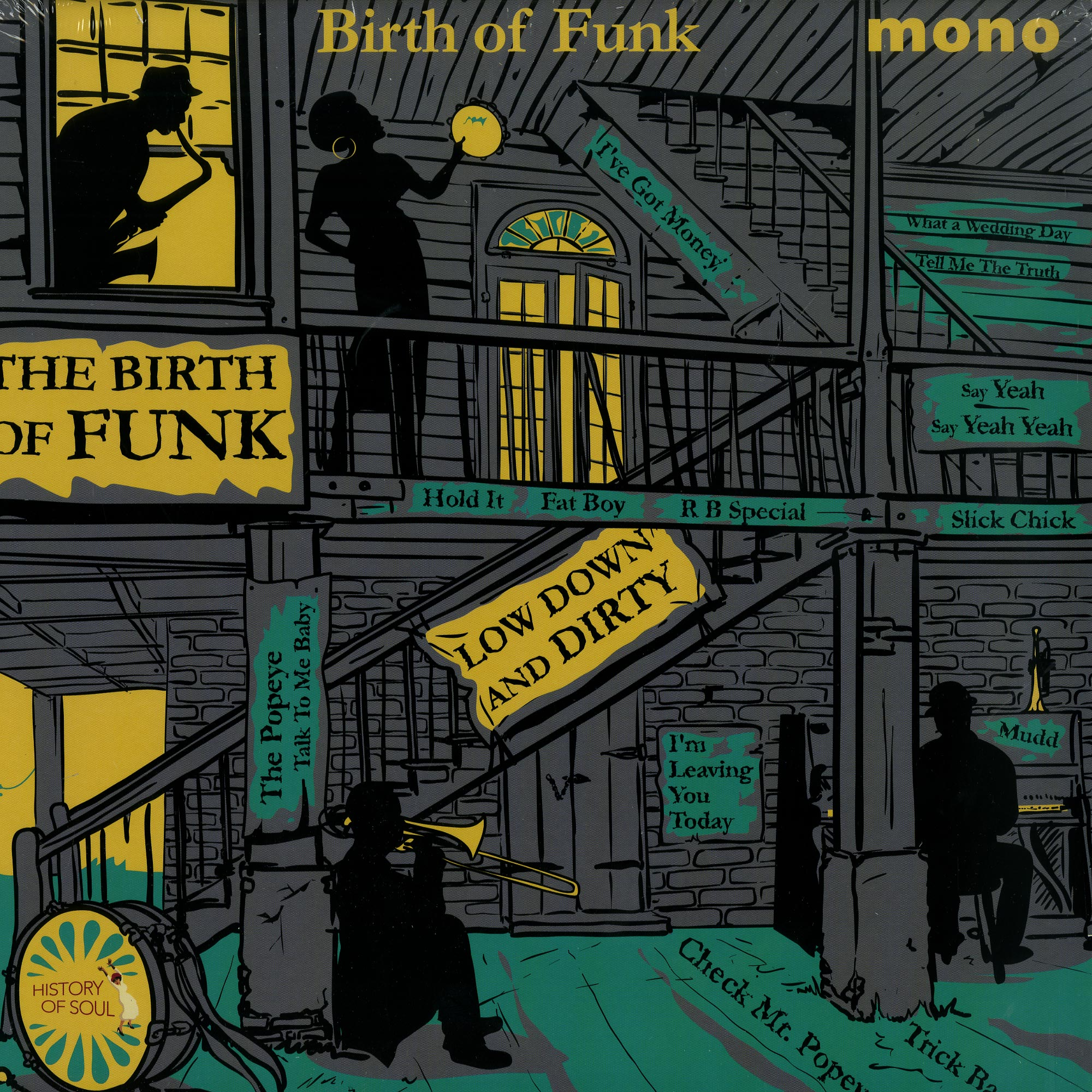 Various Artists - THE BIRTH OF FUNK