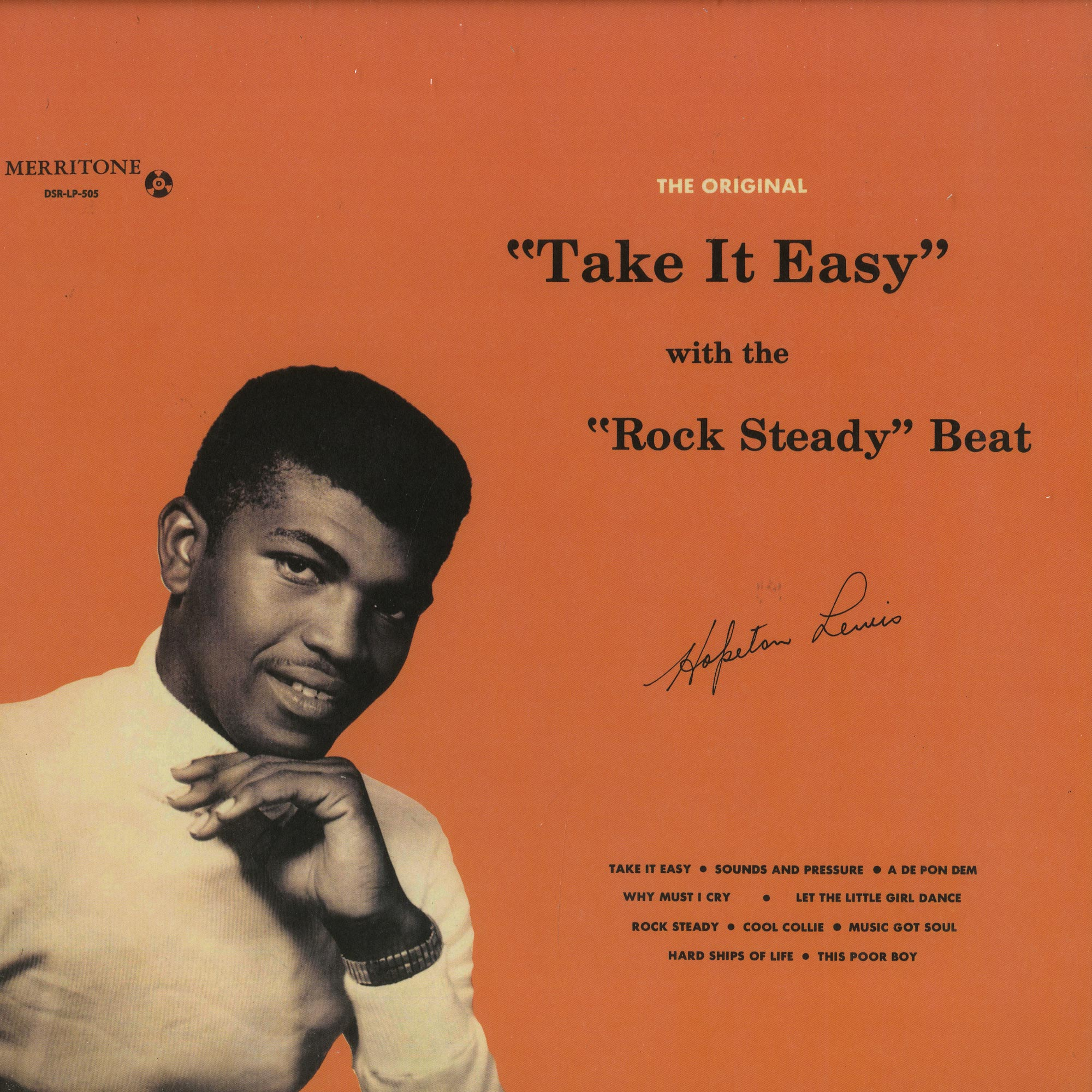 Hopeton Lewis - TAKE IT EASY WITH THE ROCK STEADY BEAT