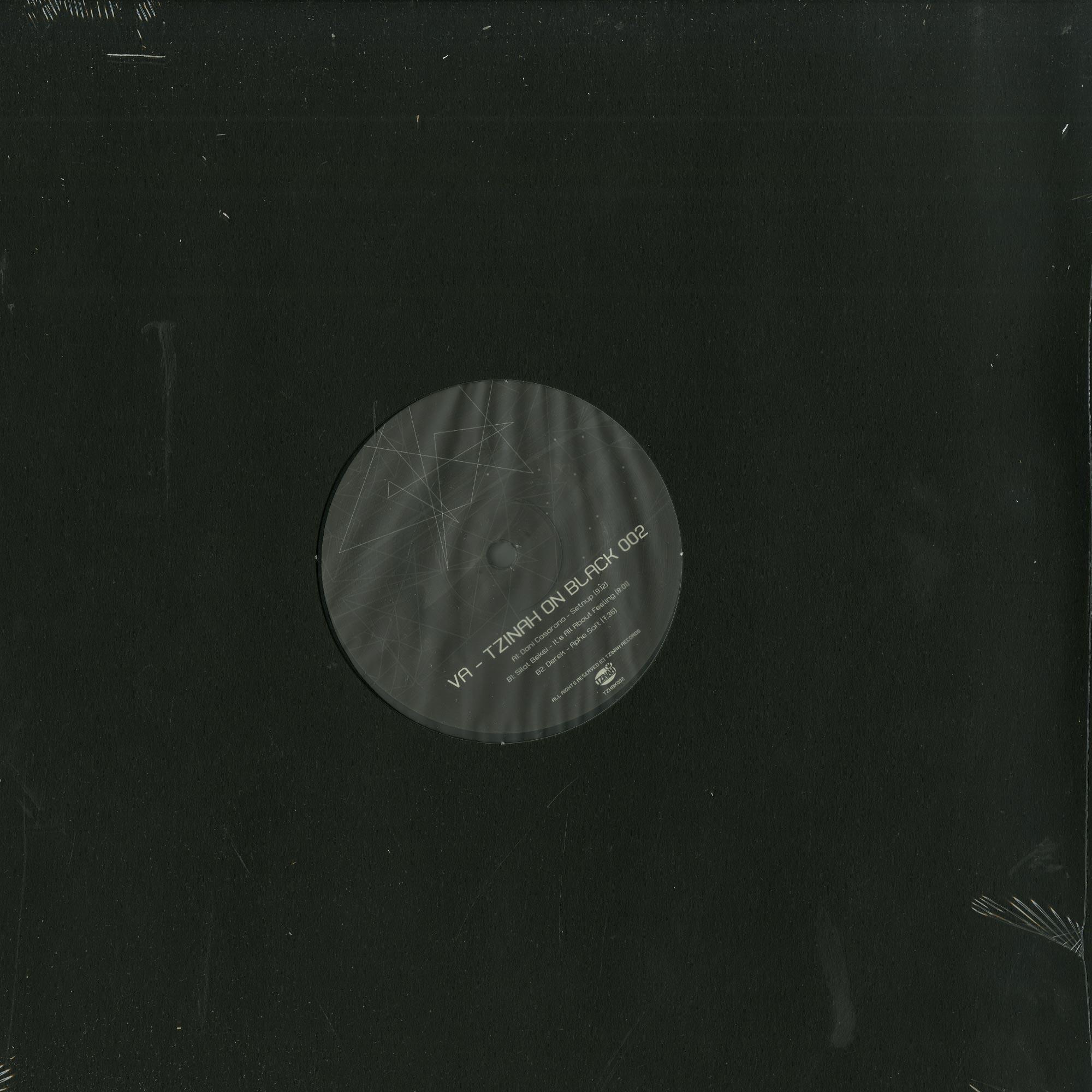 Various Artists - TZINAH ON BLACK 002