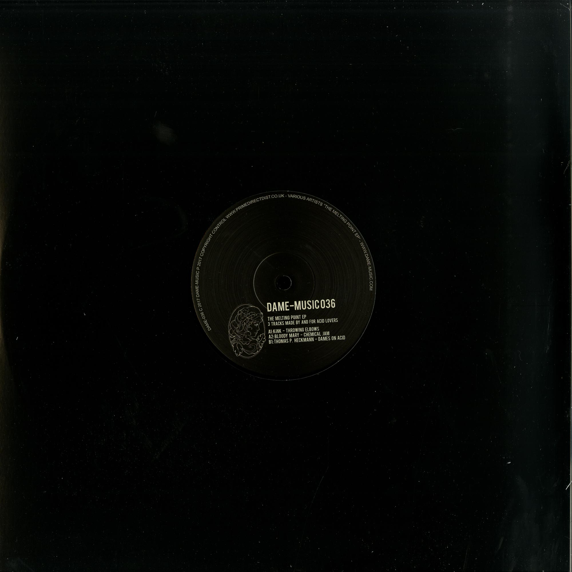 KiNK, Bloody Mary & Thomas P. Heckmann - THE MELTING POINT EP