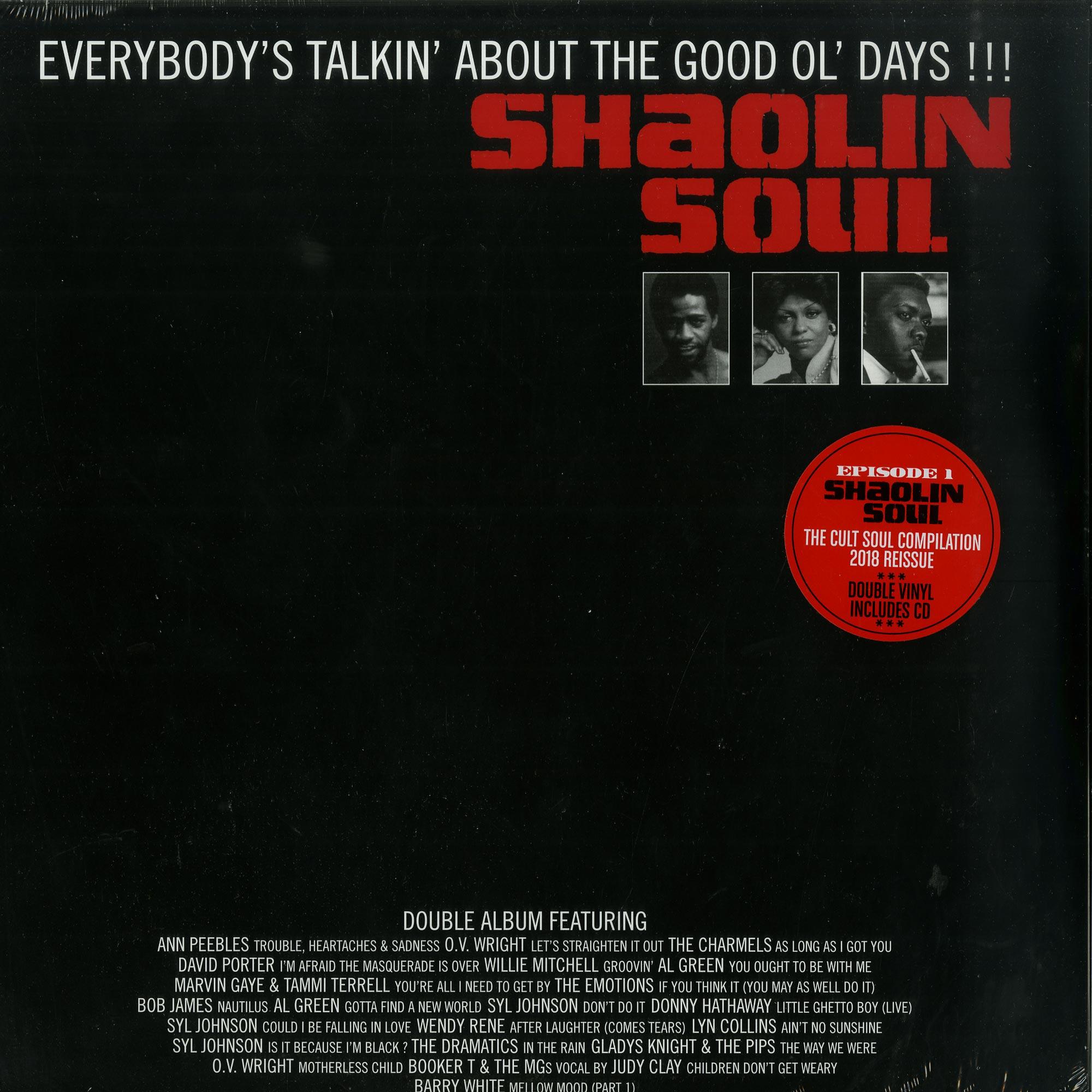 Various Artists - SHAOLIN SOUL EPISODE 1