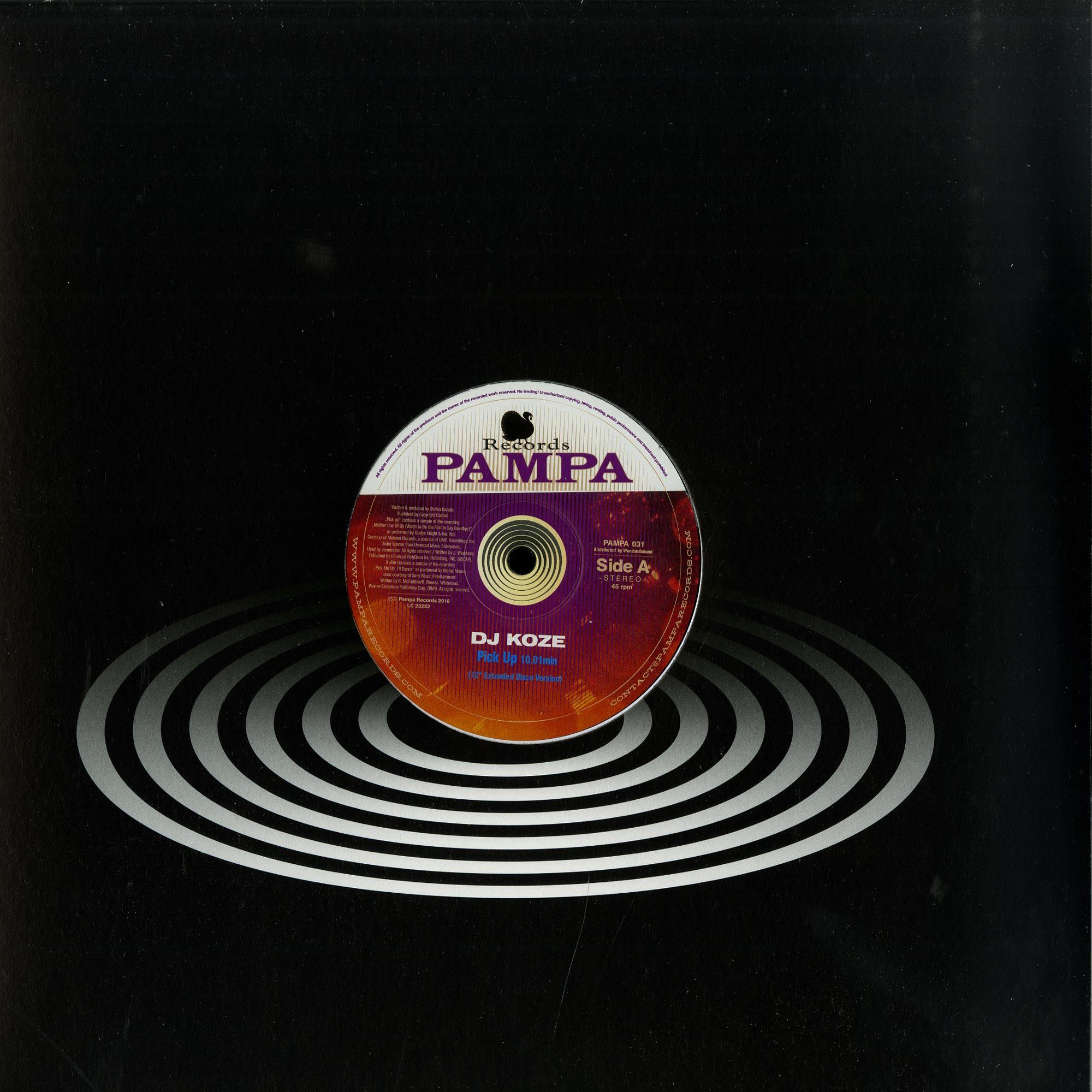 DJ Koze - PICK UP / THE LOVE TRUCK