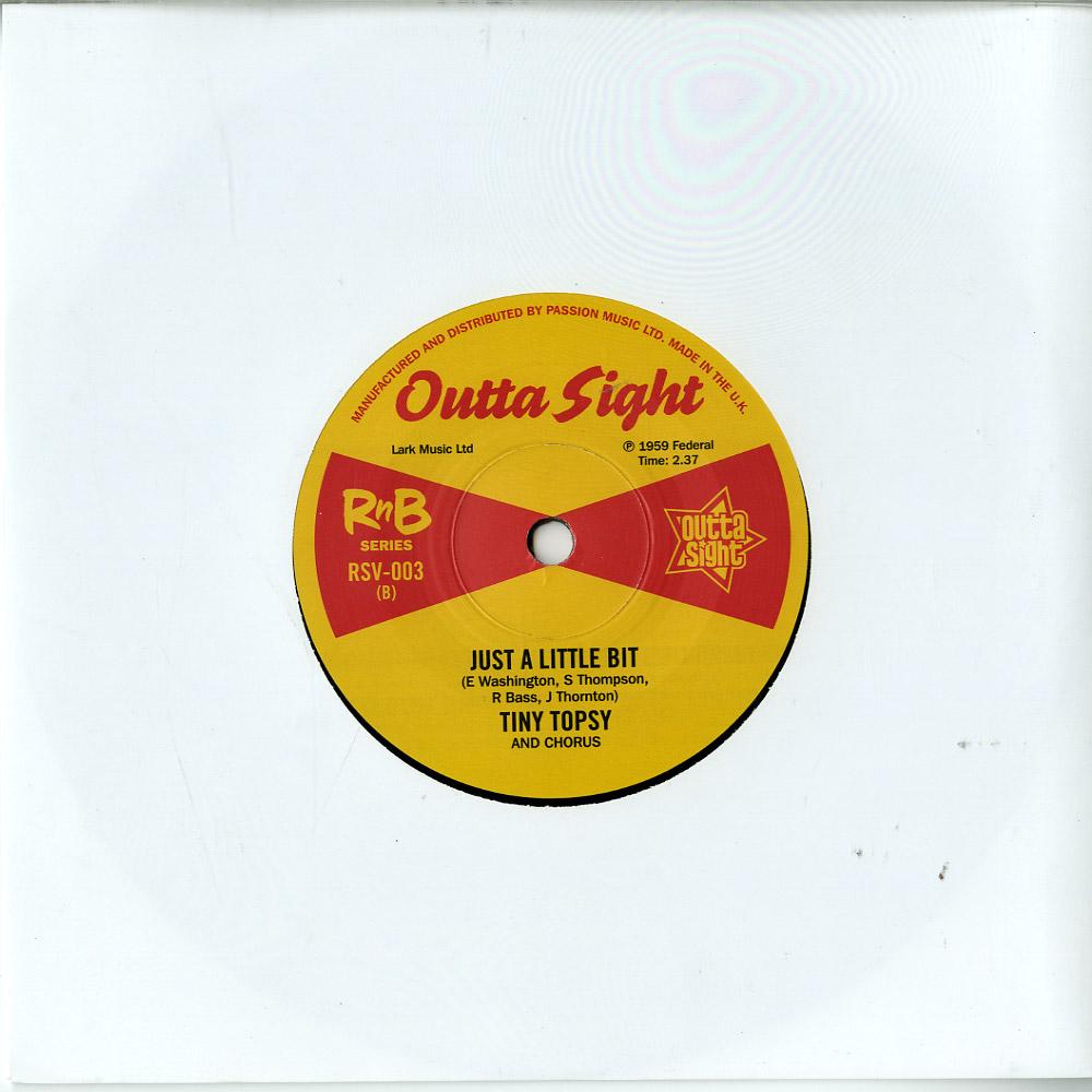 Etta James / Tiny Topsy - SEVEN DAY FOOL / JUST A LITTLE BIT