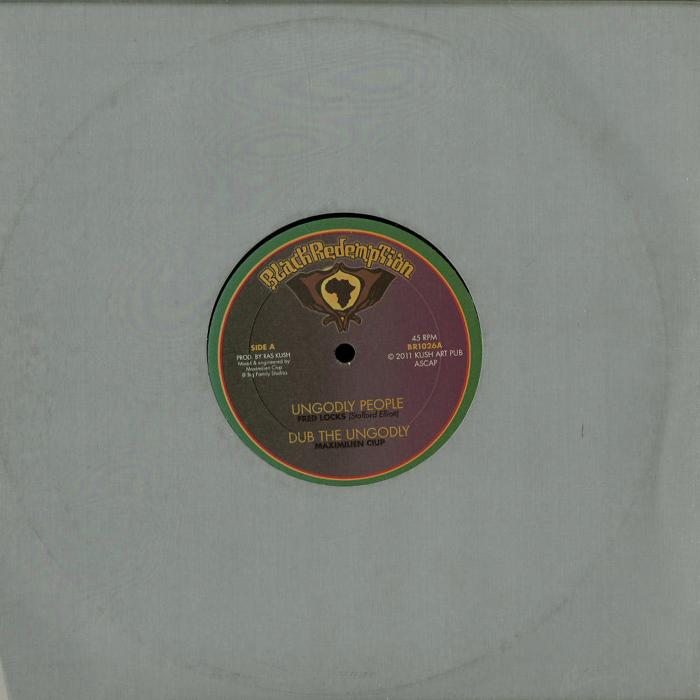 Fred Locks / Tony Tuff - UNGODLY PEOPLE / ROCKERS ALL THE TIME