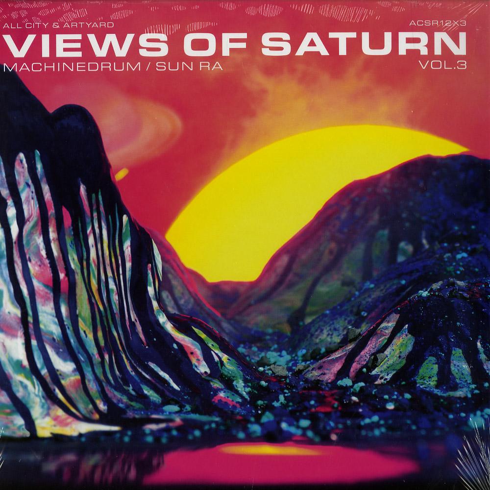 Machine Drum / Sun Ra - VIEWS OF SATURN VOL.3