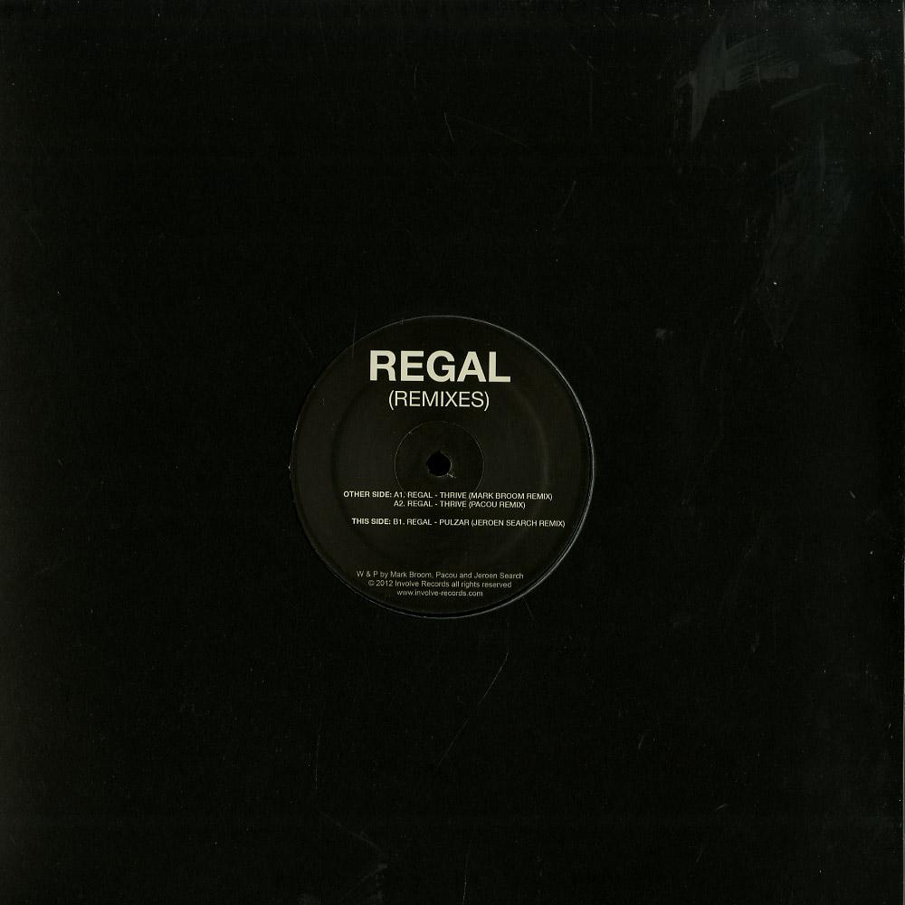 Regal / Mark Broom / Pacou / Jeroen Search - INVOLVE 01 REMIXES