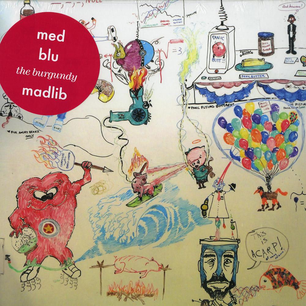 Med / Blu / Madlib - THE BURGUNDY EP