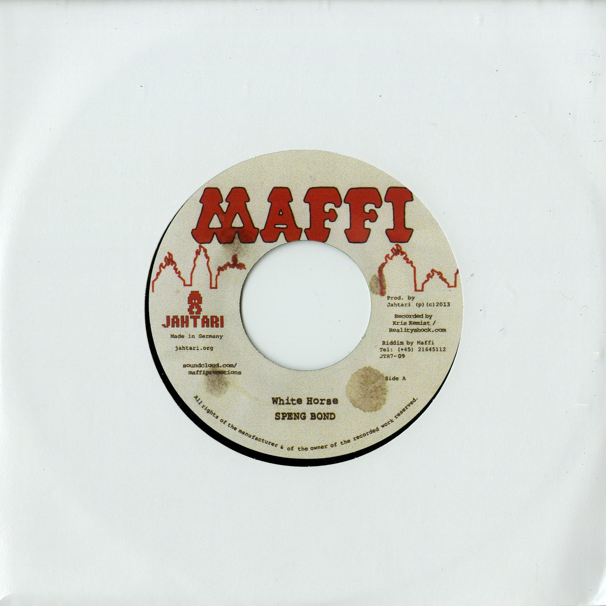 Speng Bond / Maffi - WHITE HORSE / HEDI RIDDIM
