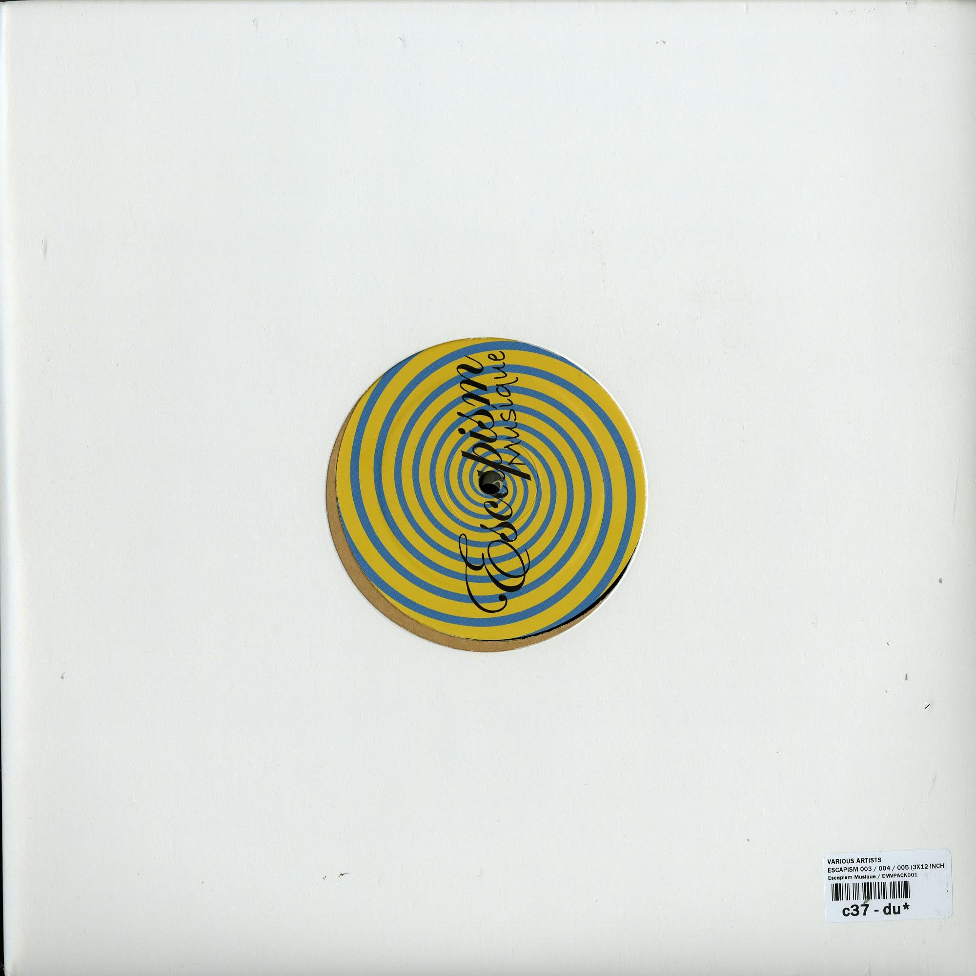 Various Artists - ESCAPISM 003 / 004 / 005