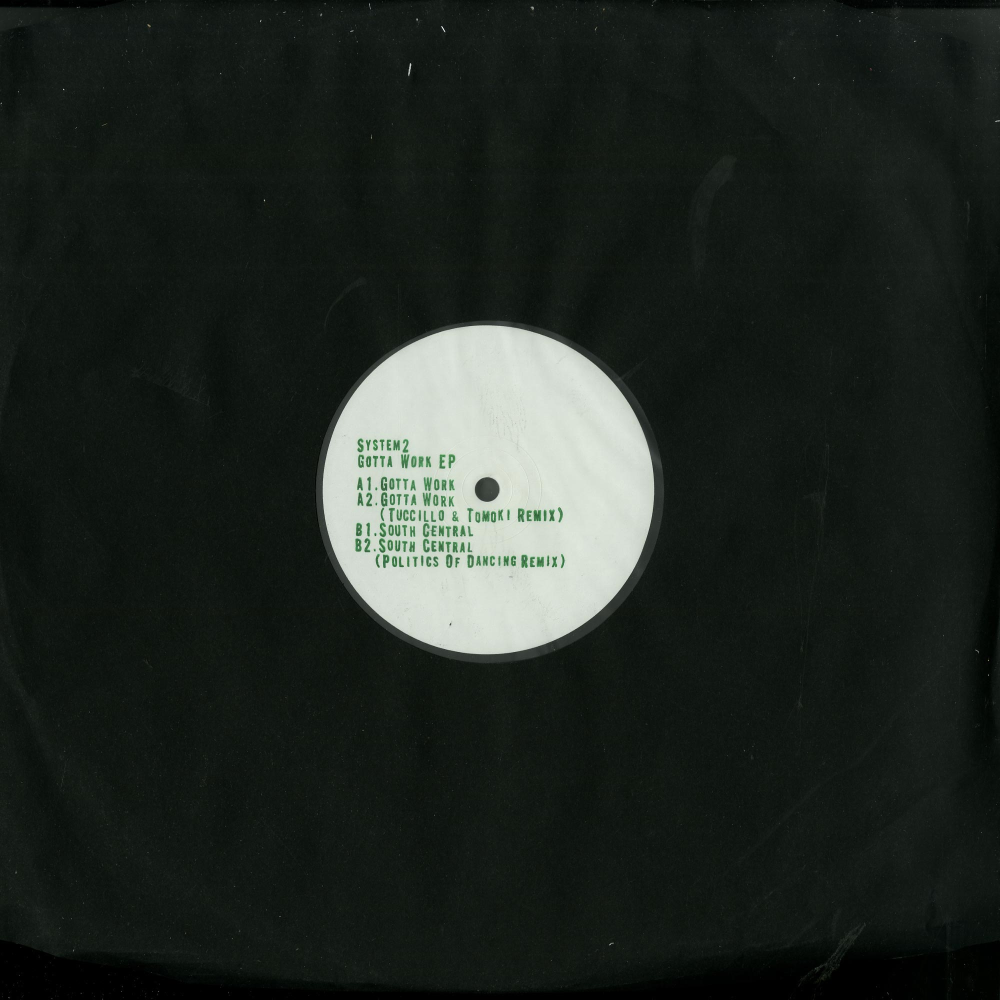 System2 - GOTTA WORK EP