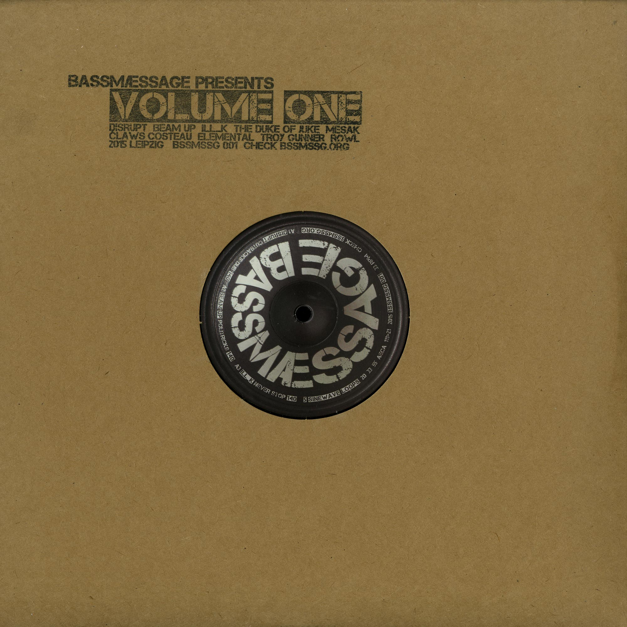 Various Artists - BASSMAESSAGE VOLUME ONE