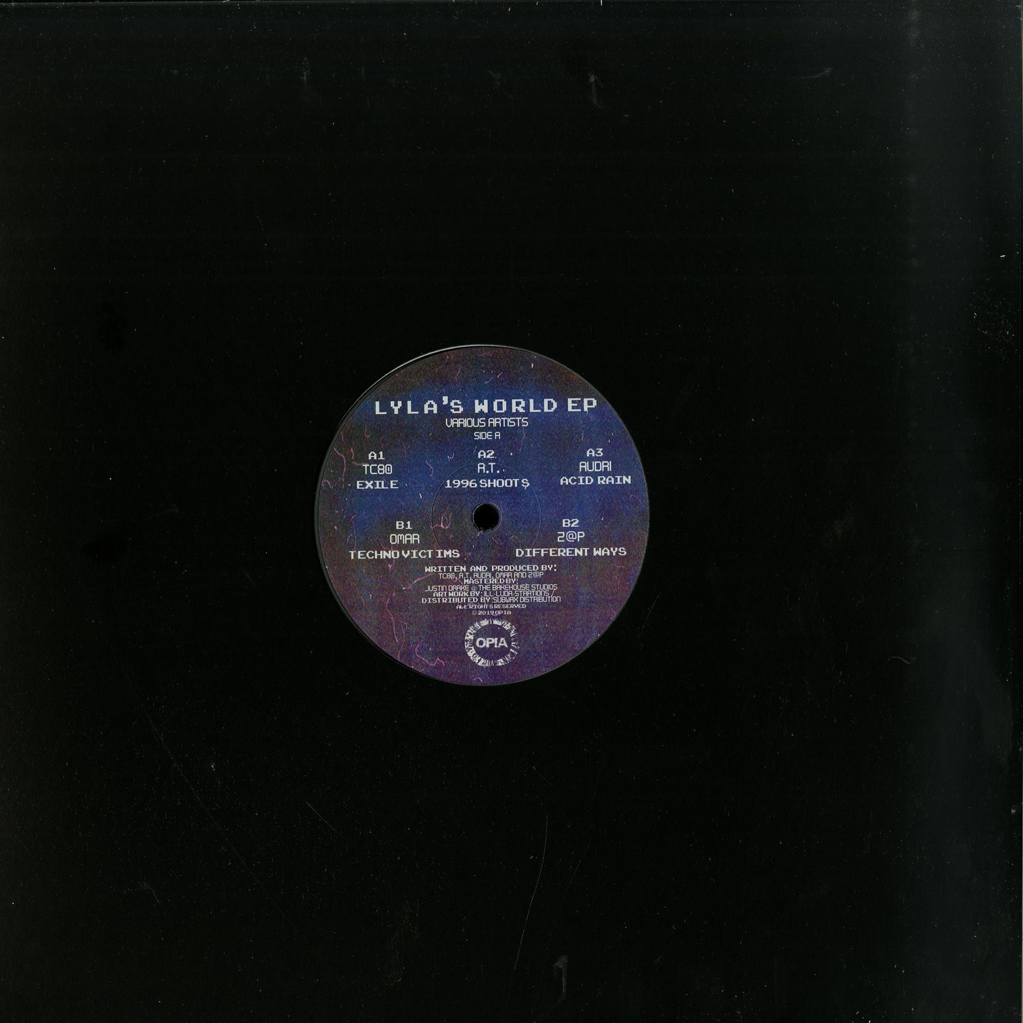 Various Artists - LYLAS WORLD EP