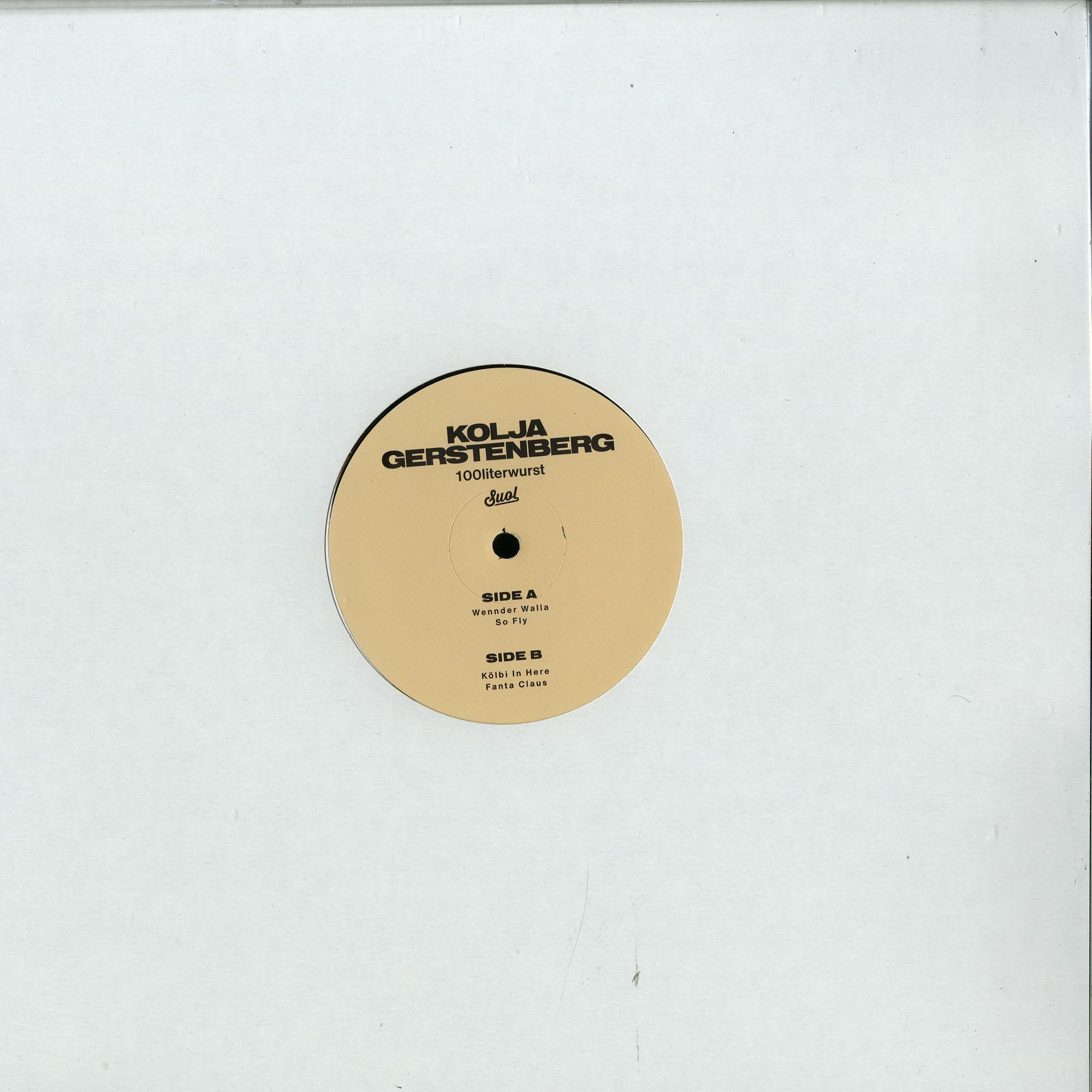 Kolja Gerstenberg - 100LITERWURST EP