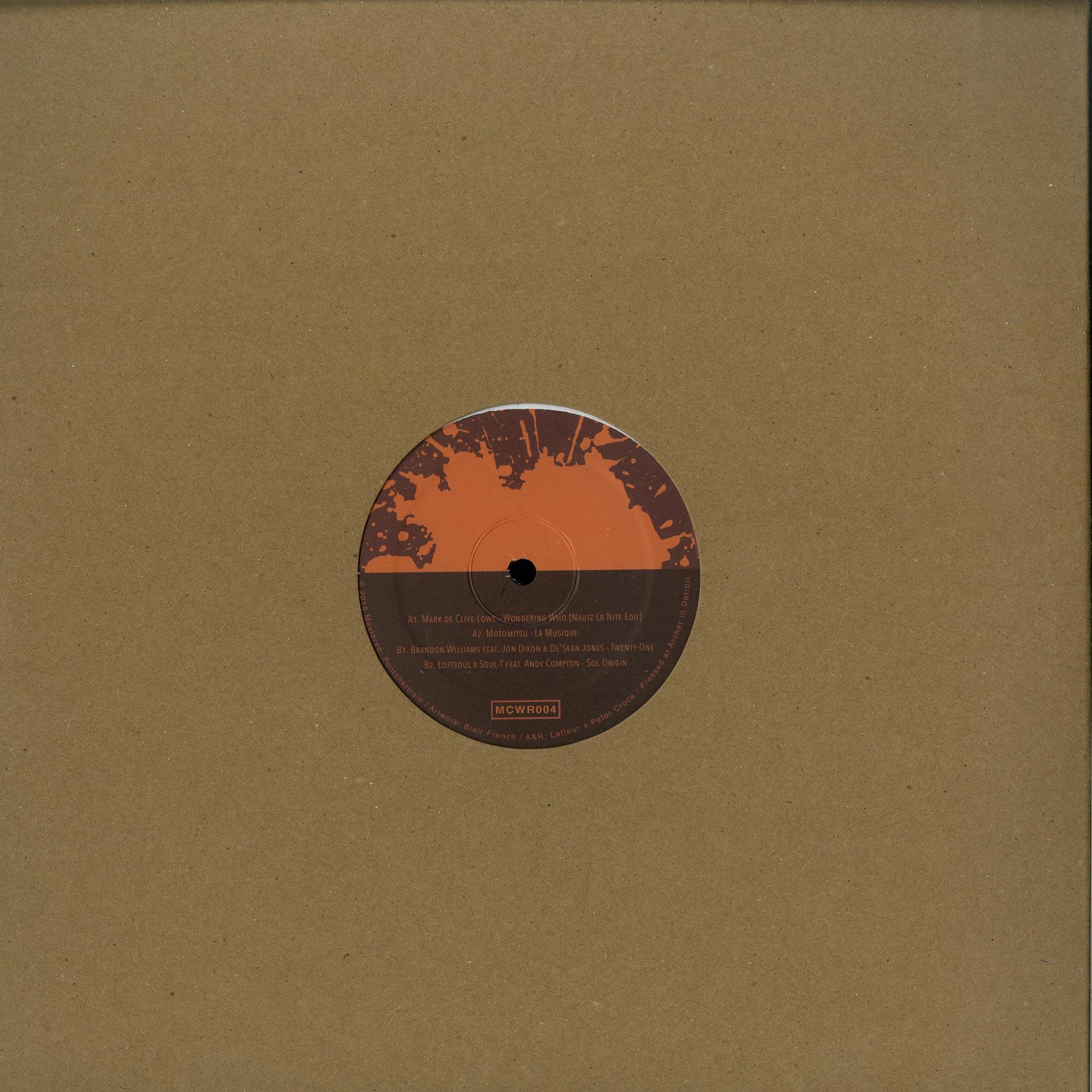 Various Artists  - MOTORCITY WINE RECORDINGS 4