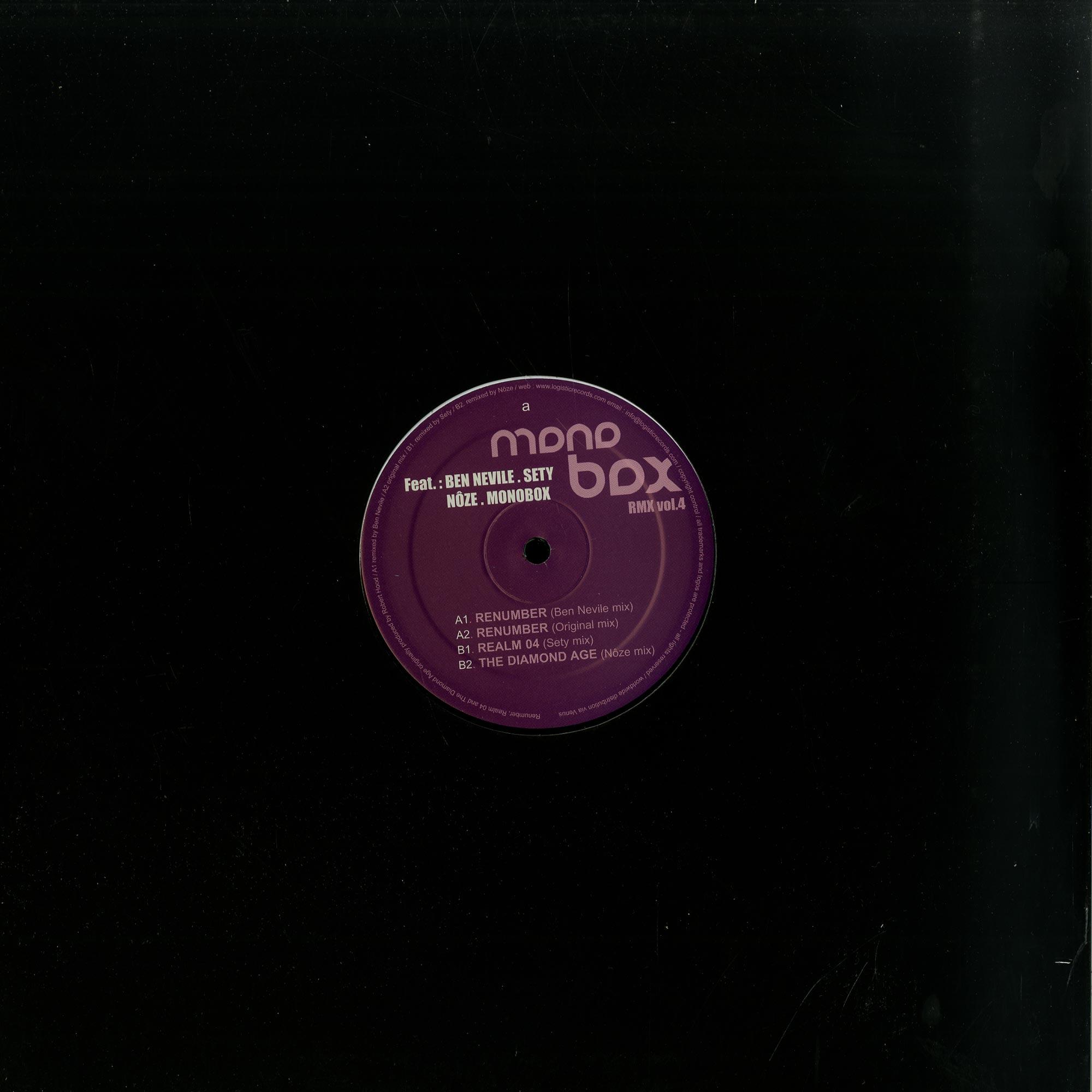 Monobox - THE REMIXES VOL 4