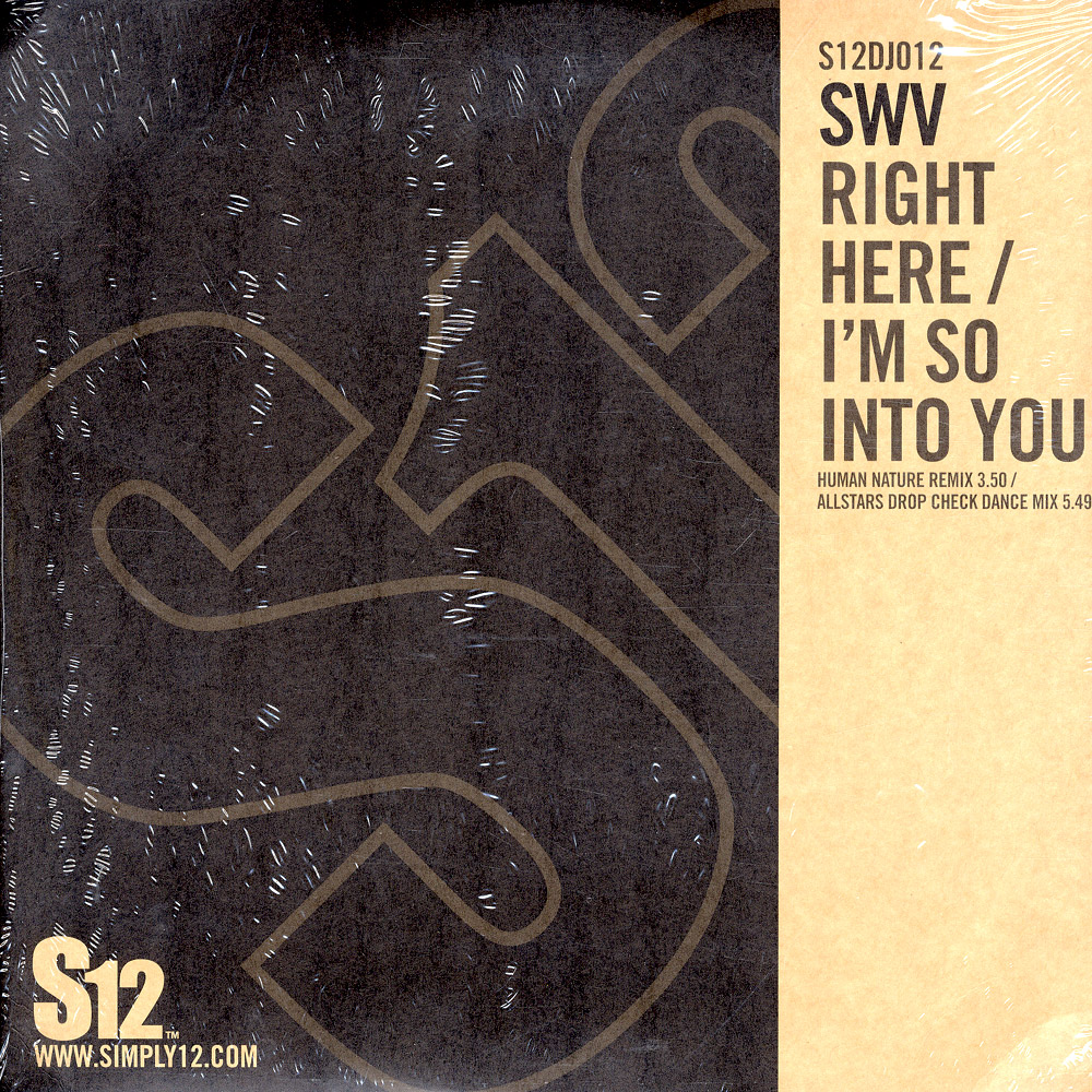 SWV - RIGHT HERE-IM SO INTO YOU