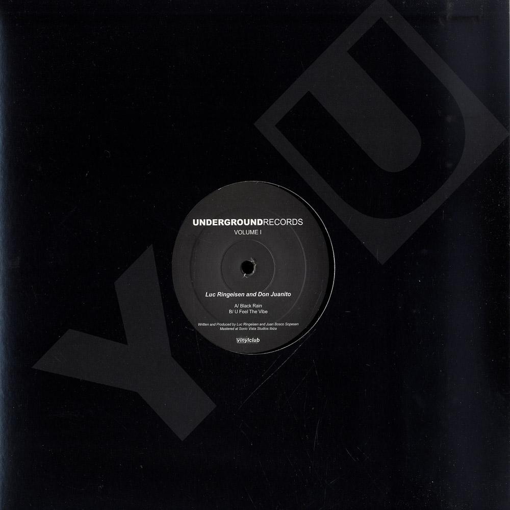 Luc Ringeisen & Don Juanito - UNDERGROUND RECORDS VOLUME I