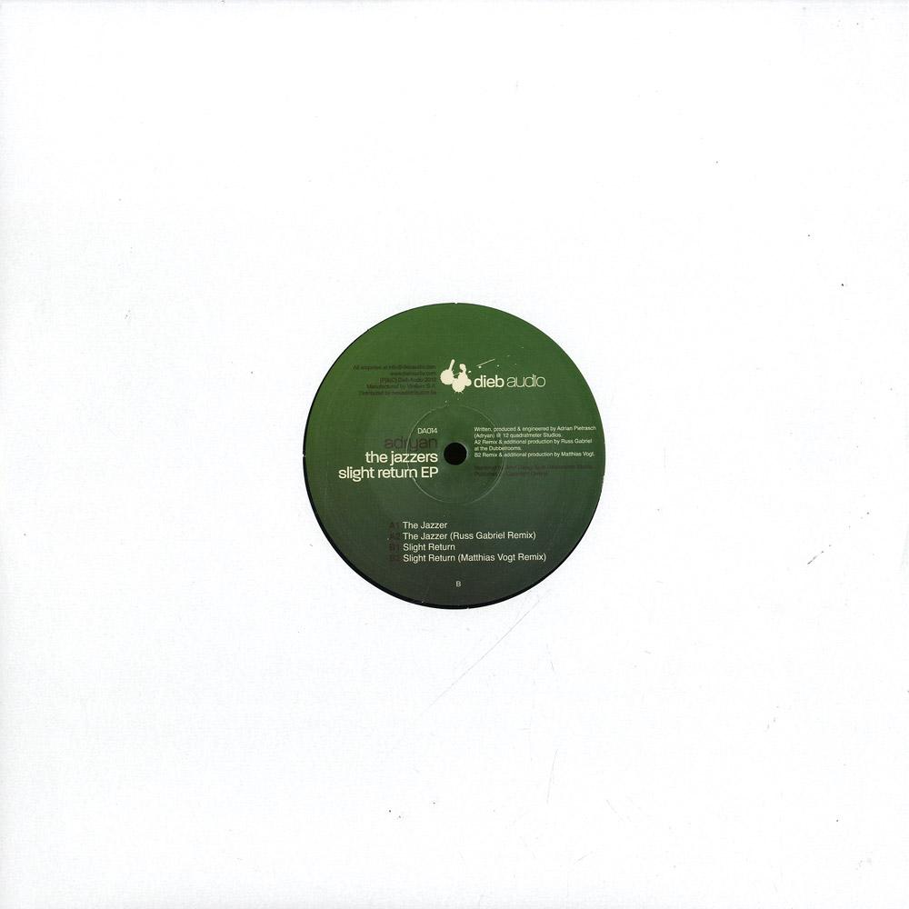 Adryan - THE JAZZERS SLIGHT RETURN EP