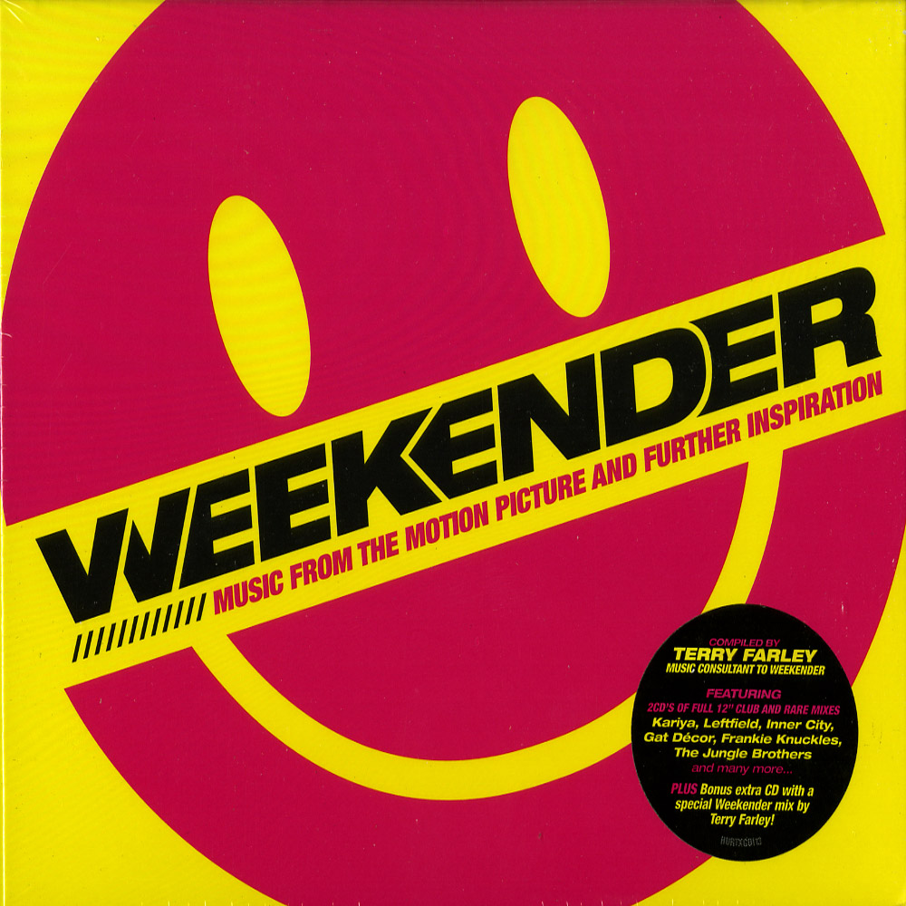 Various Artists , compiled by Terry Farley - WEEKENDER - 3 CD
