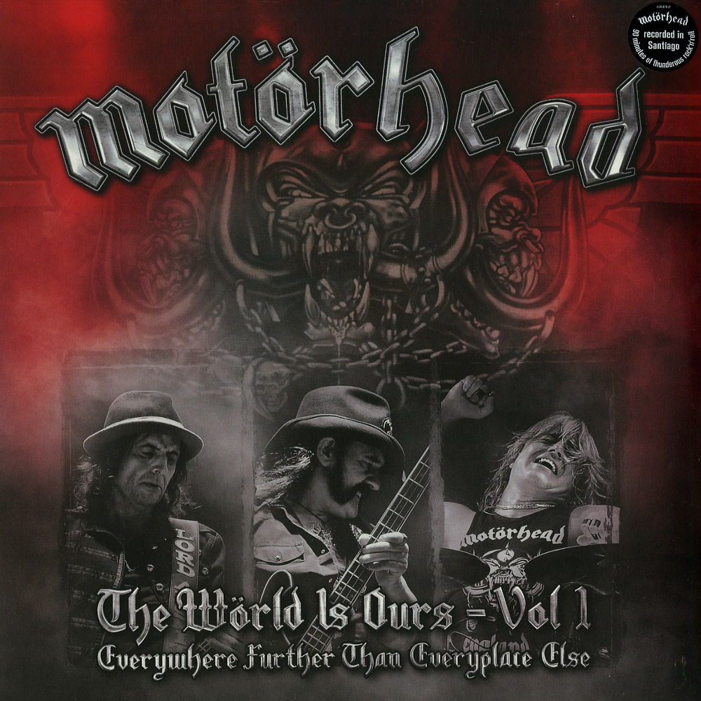 Motorhead - THE WORLD IS OURS VOL. 1