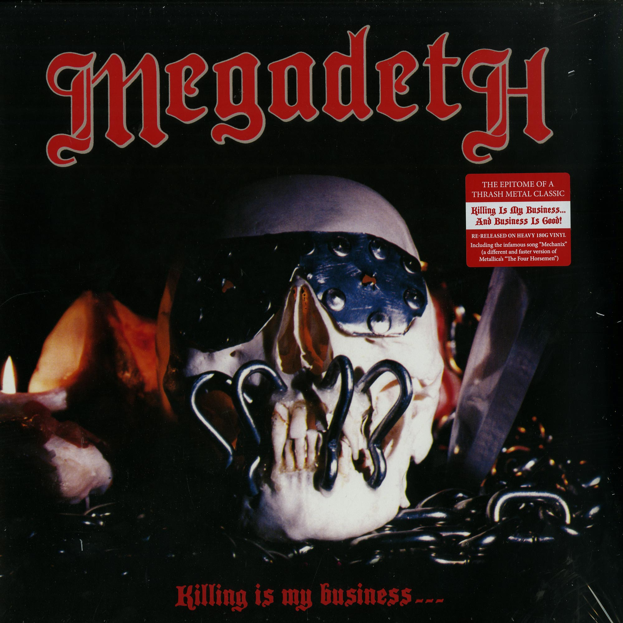 Megadeath - KILLING IS MY BUSINESS... AND BUSINESS IS GOOD!