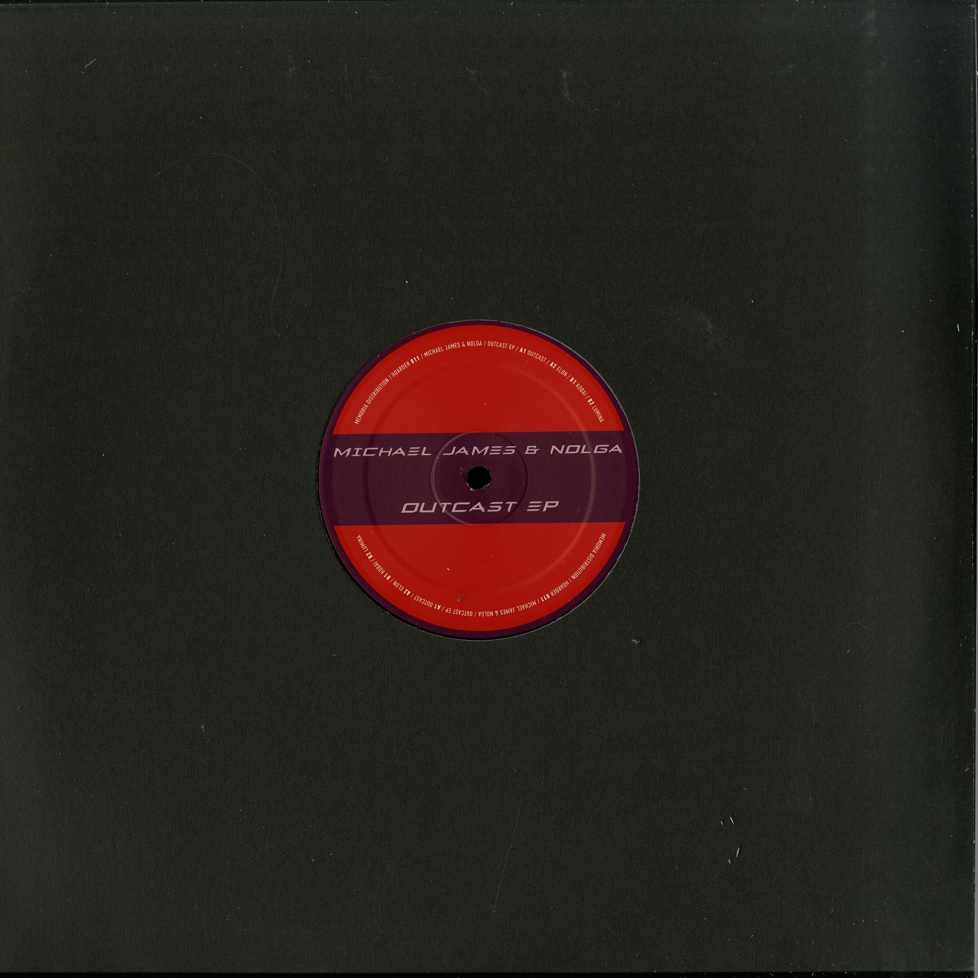 Michael James & Nolga - OUTCAST EP