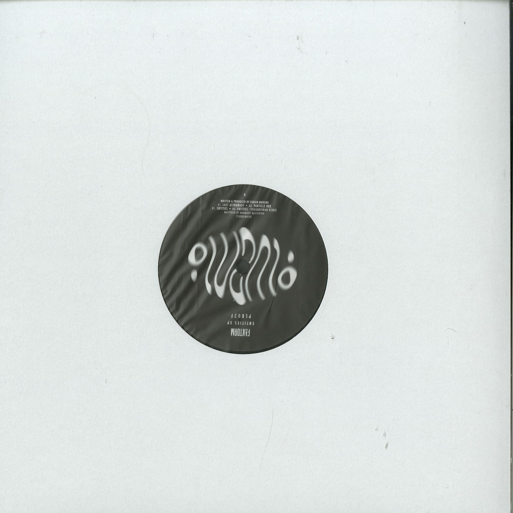 Faktorm - ENTITIES EP