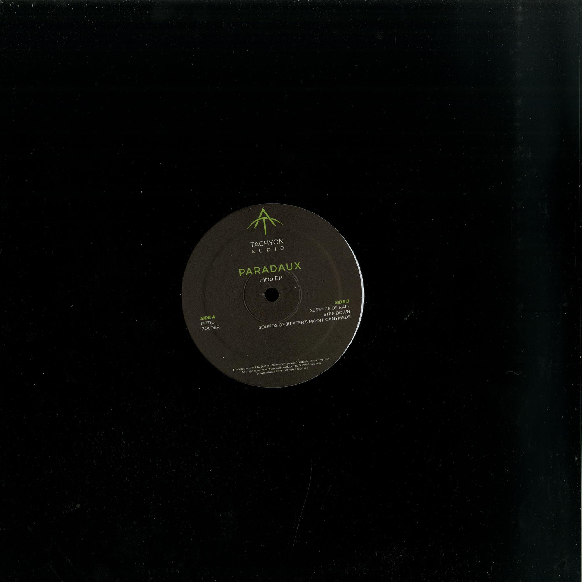 Paradaux - INTRO EP