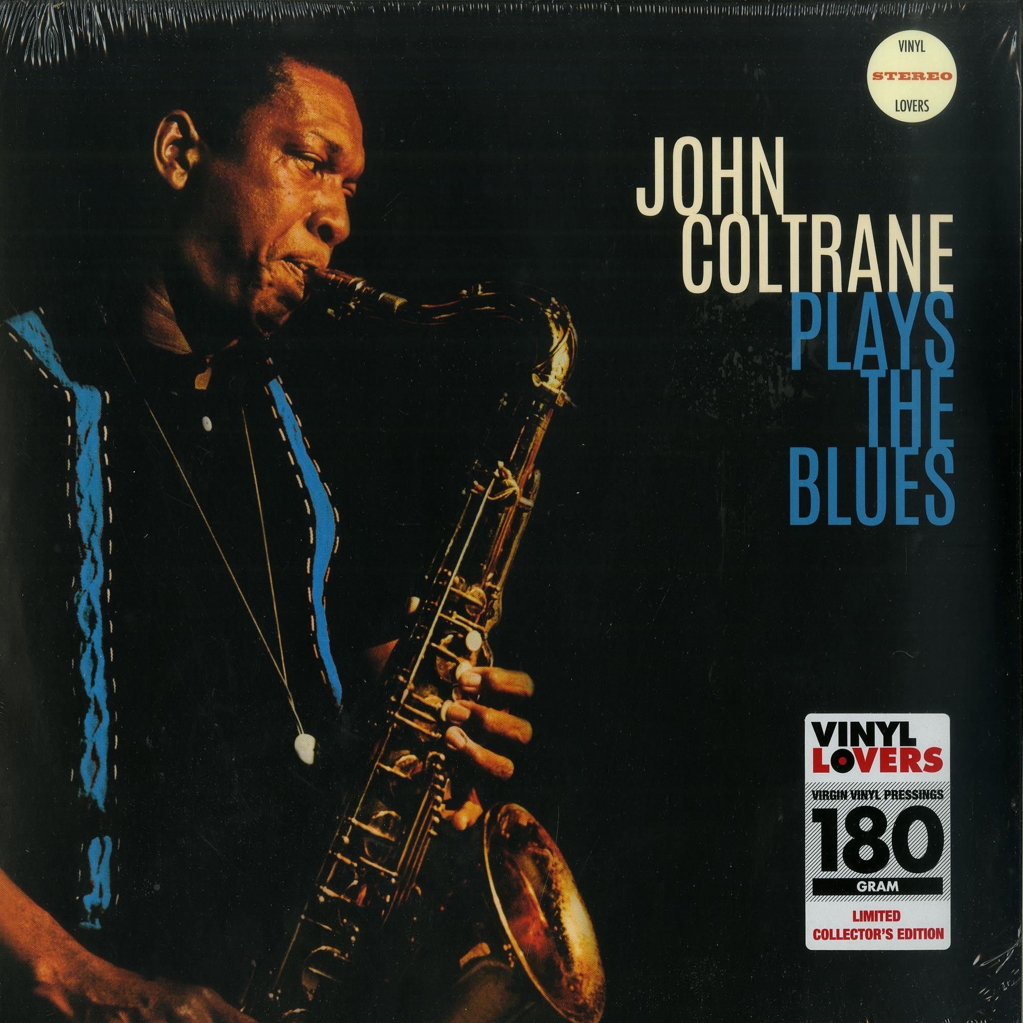 John Coltrane - PLAYS THE BLUES