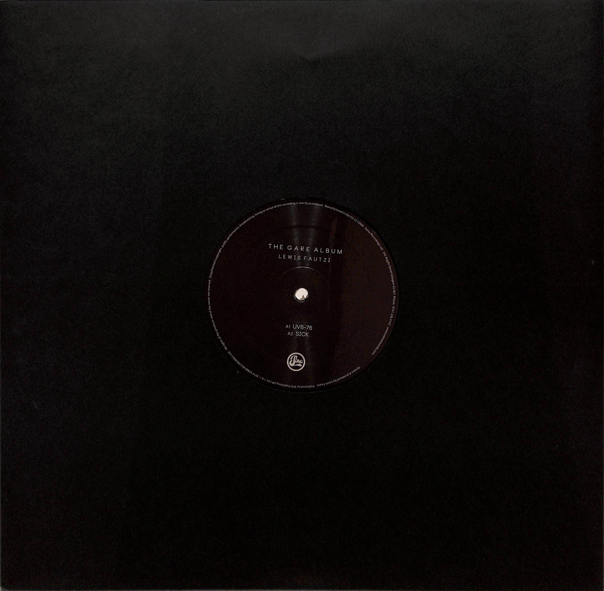 Lewis Fautzi - THE GARE ALBUM