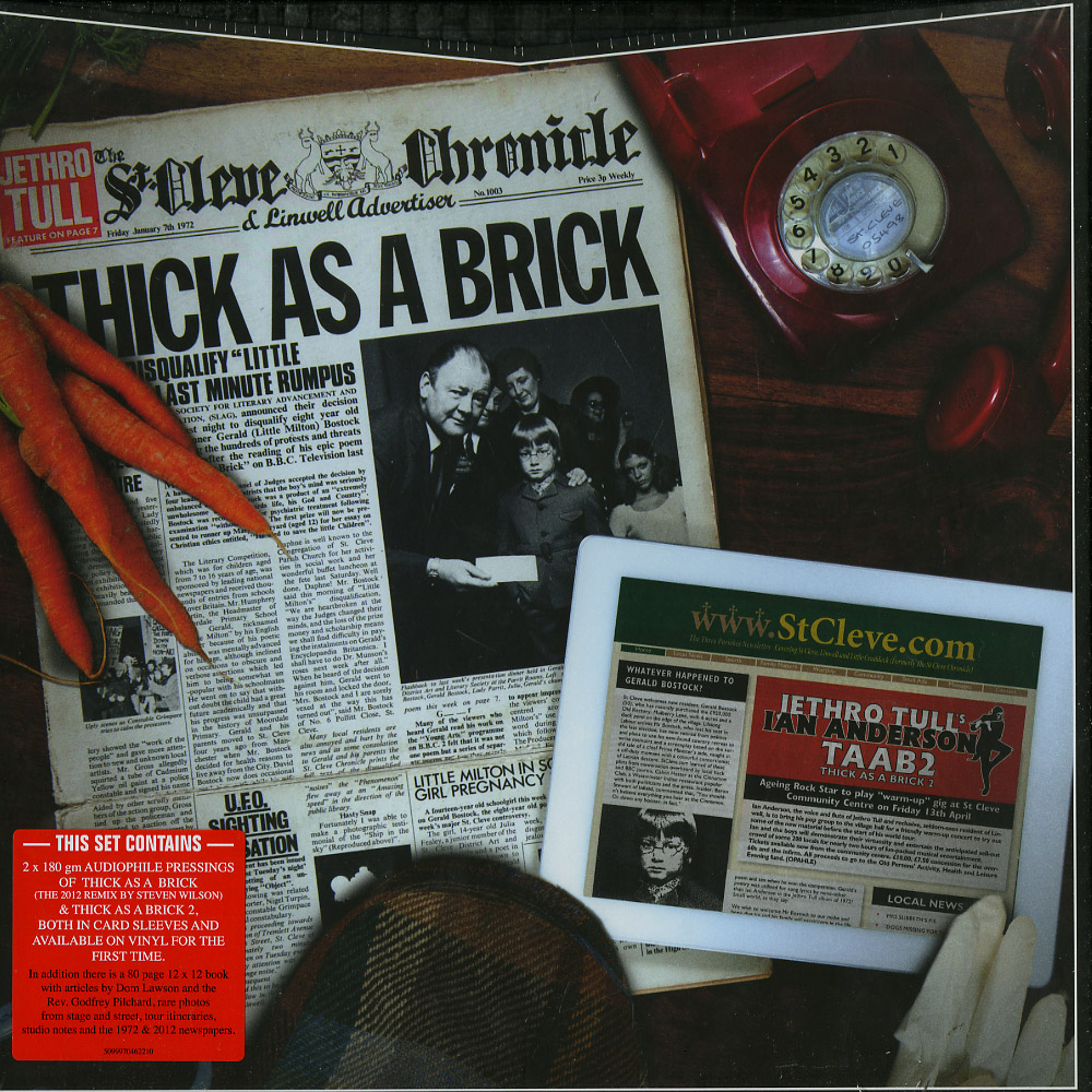 Jethro Tull - THICK AS A BRICK 1 & 2