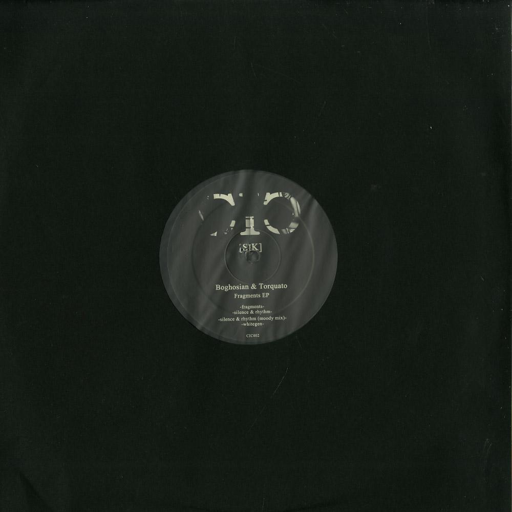 Boghosian & Torquato - FRAGMENTS EP