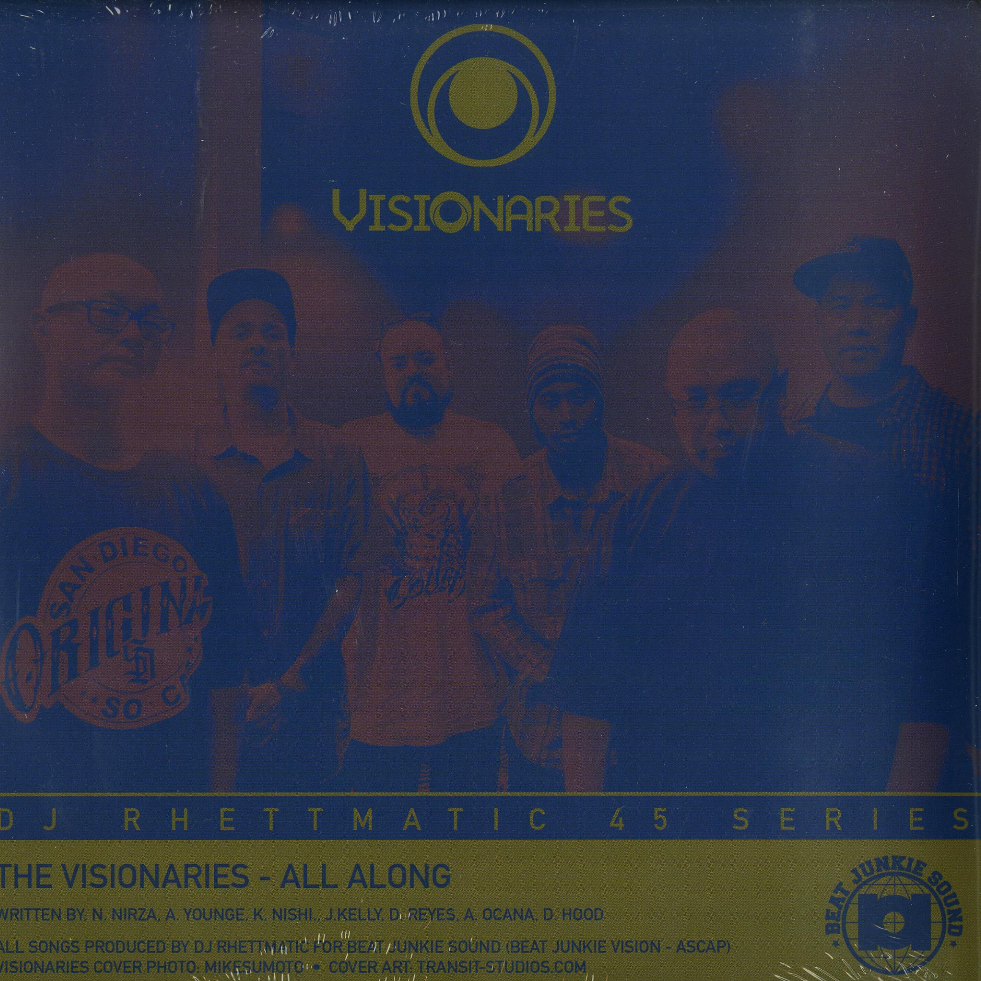 The Visionaries. Crown Royale - ALL ALONG / STRATASPHERE