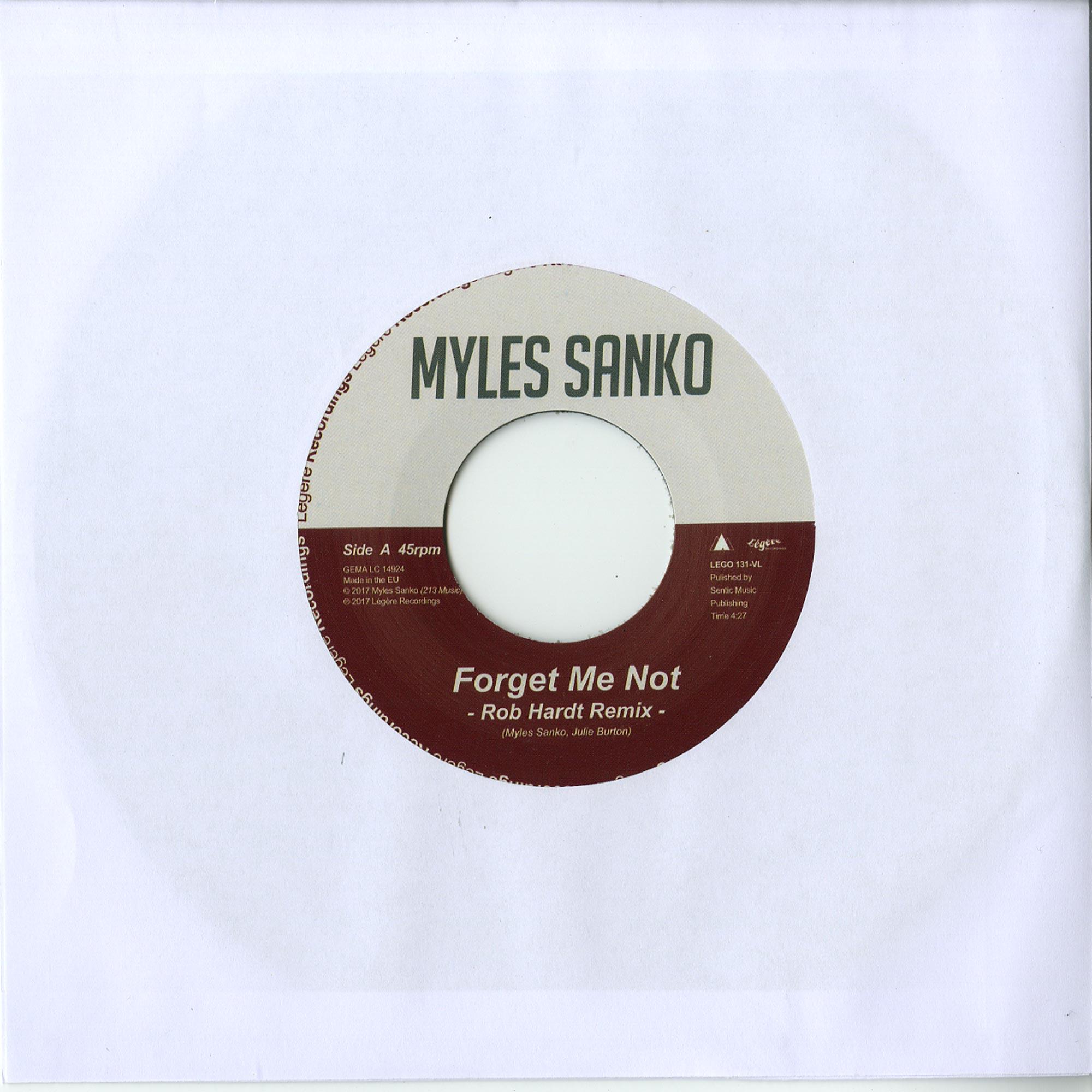 Myles Sanko - FORGET ME NOT