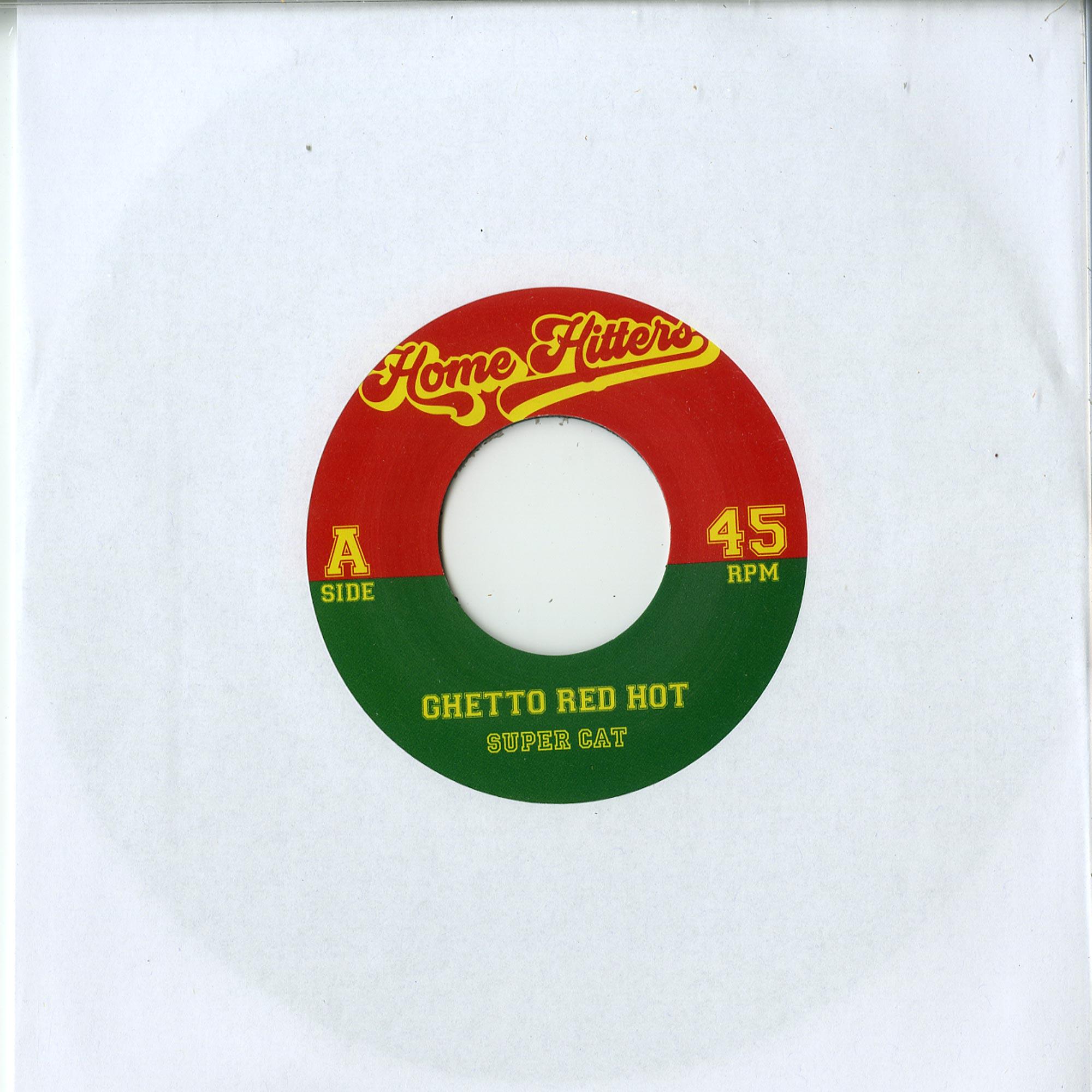 Supercat / Fu Schnickens - GHETTO RED HOT / RING THE ALARM