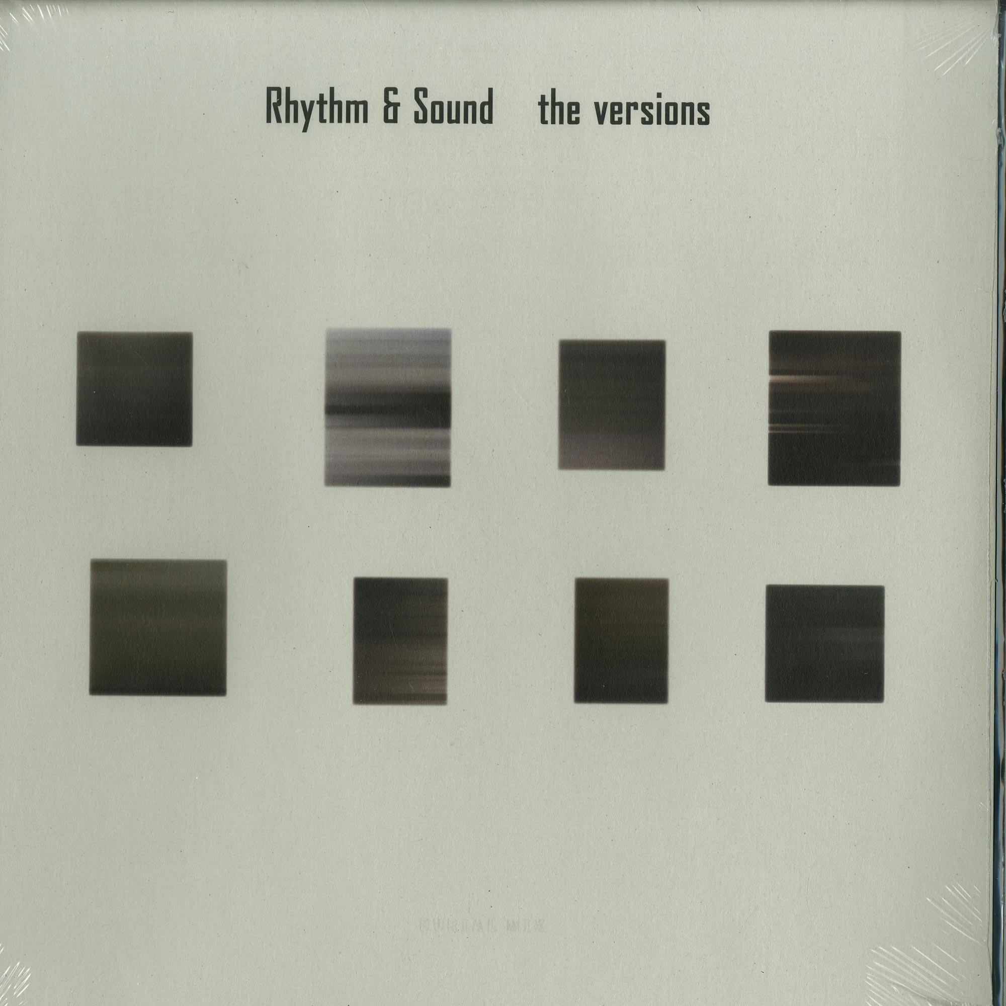 Rhythm & Sound - THE VERSIONS