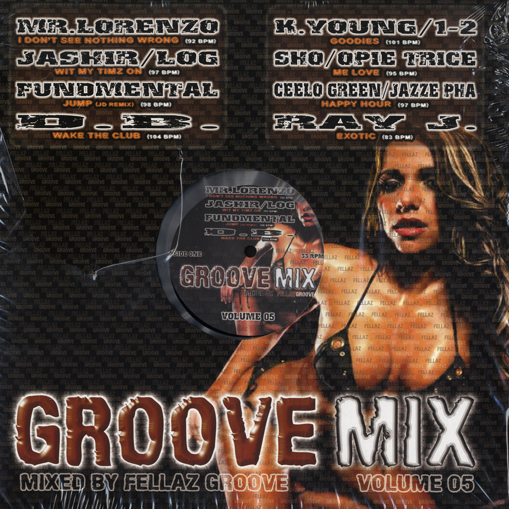 Various - GROOVE MIX VOL.5 / MIXED BY FELLAZ GROOVE