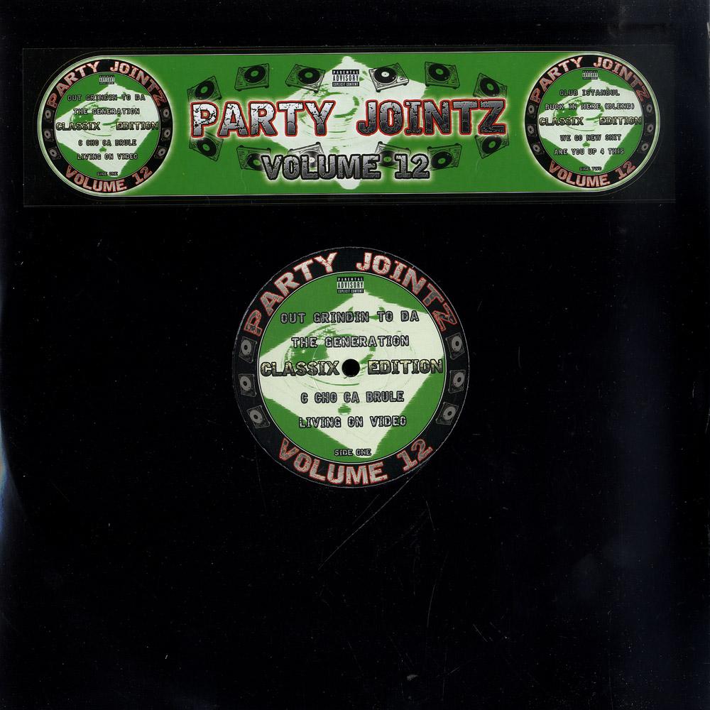 Various Artists - PARTY JOINTZ VOL. 12