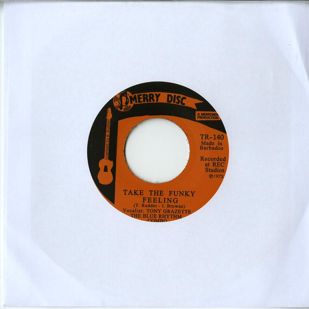 The Blue Rhythm Combo - TAKE THE FUNKY FEELING / BLACK WATE GOLD