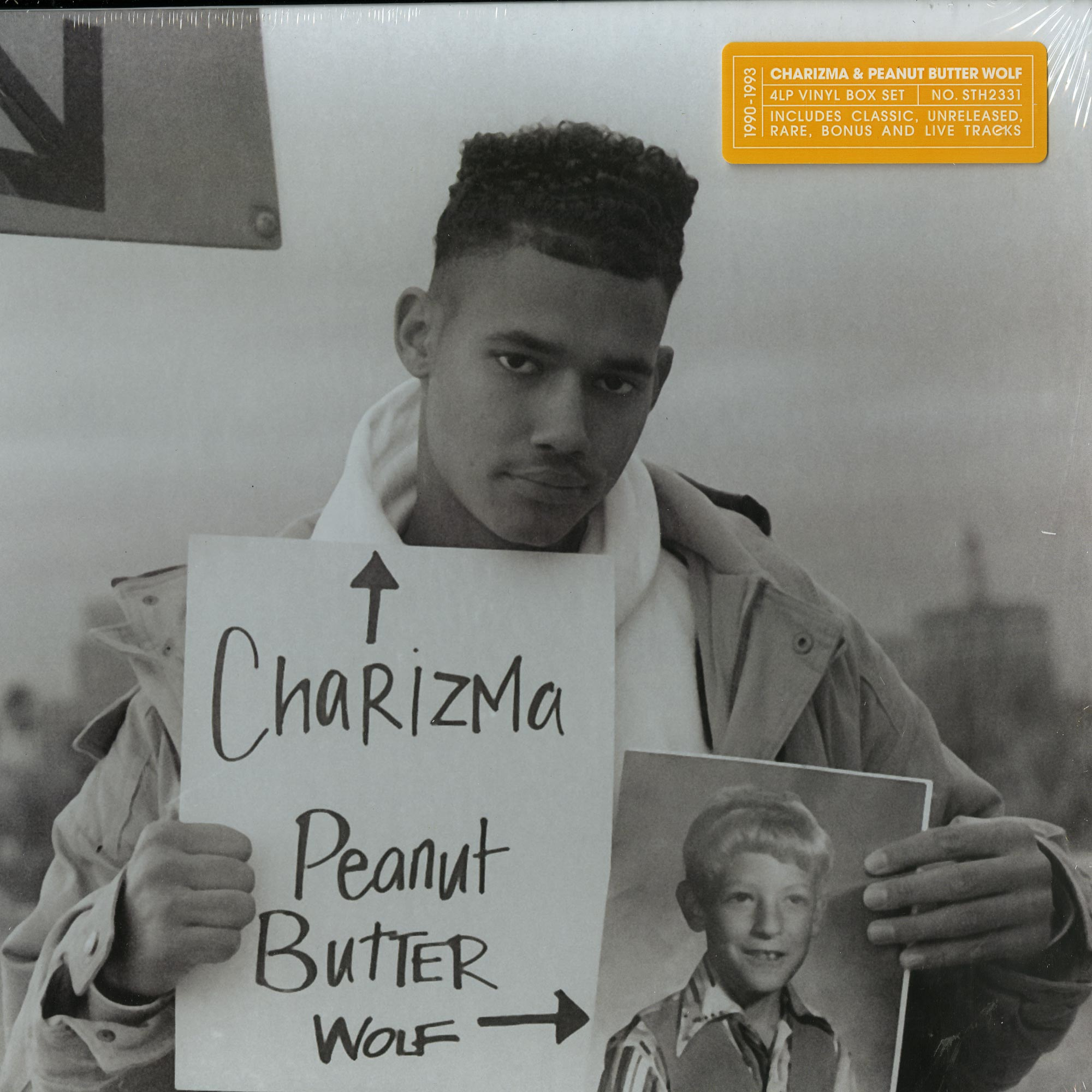 Charizma & Peanut Butter Wolf - CIRCA 1990-1993