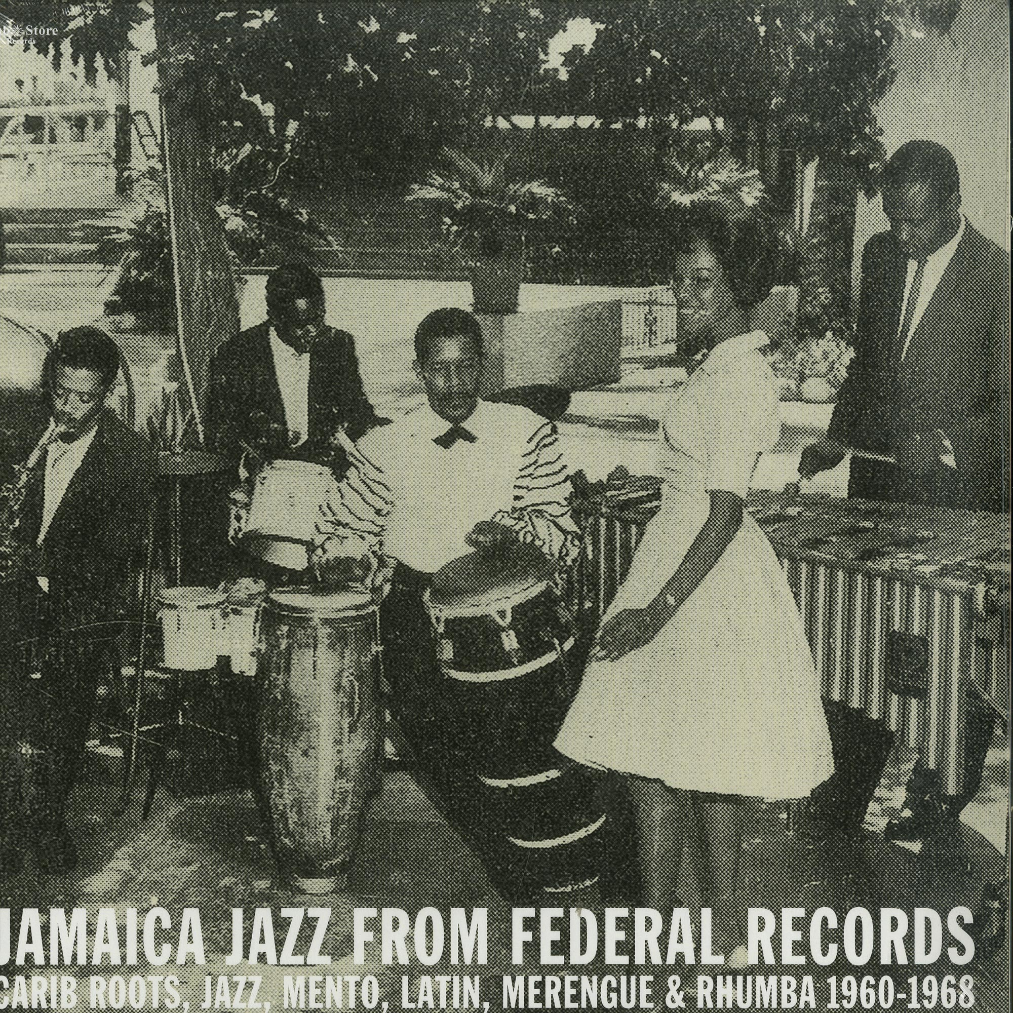 Various Artists - JAMAICA JAZZ FROM FEDERAL RECORDS