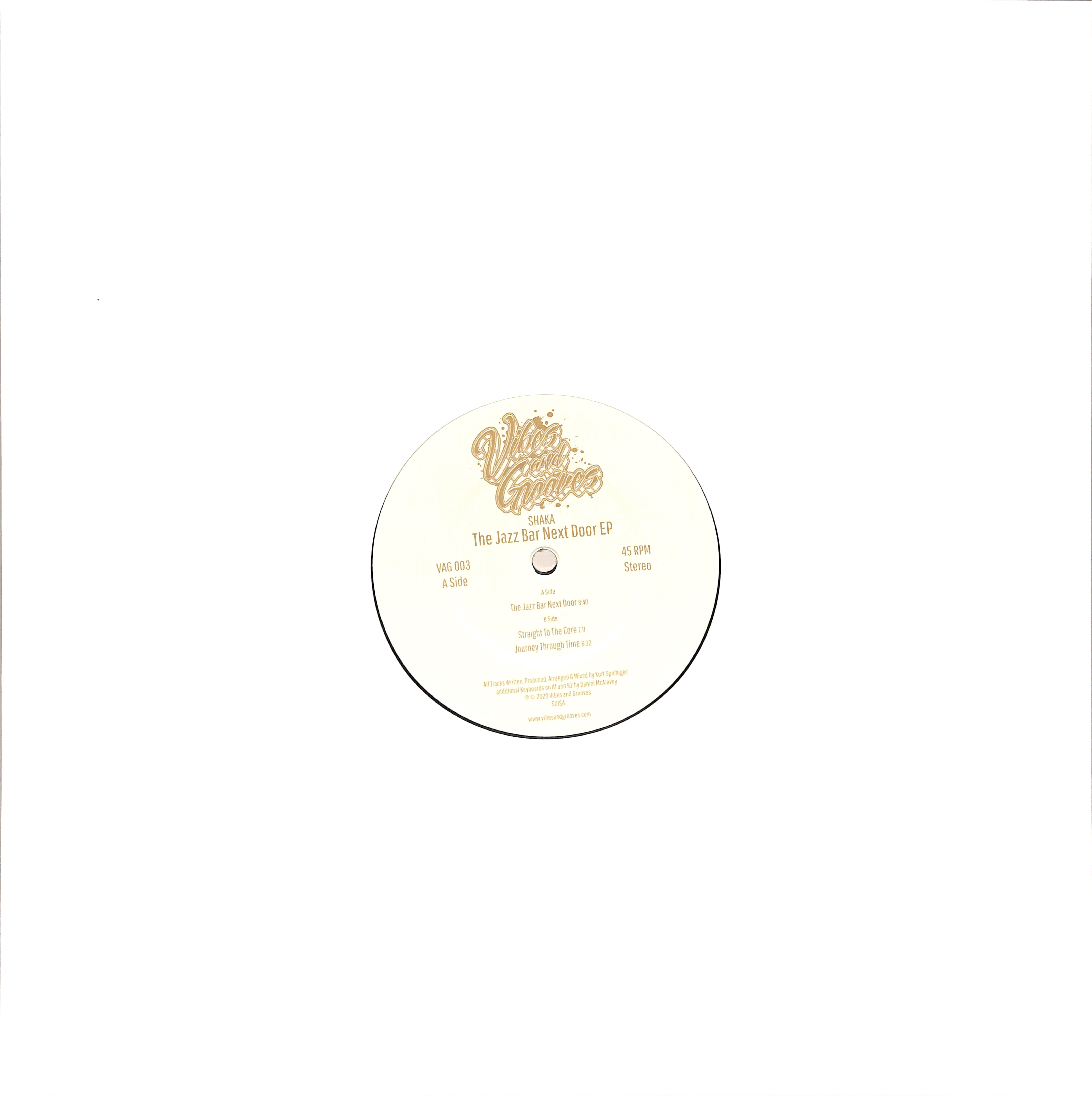 Shaka - THE JAZZ BAR NEXT DOOR EP