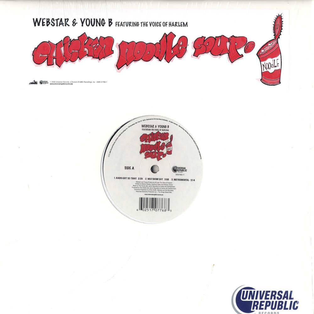 Webstar & Young-B  ft The Voice of Harlem - CHICKEN NOODLE SOUP
