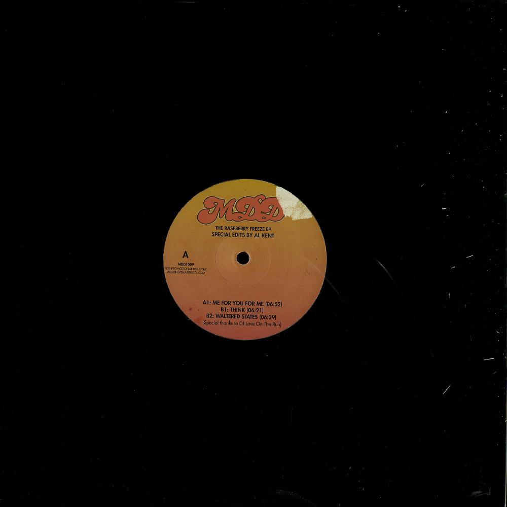Al Kent presents Million Dollar Disco - THE RASPBERRY FREEZE EP