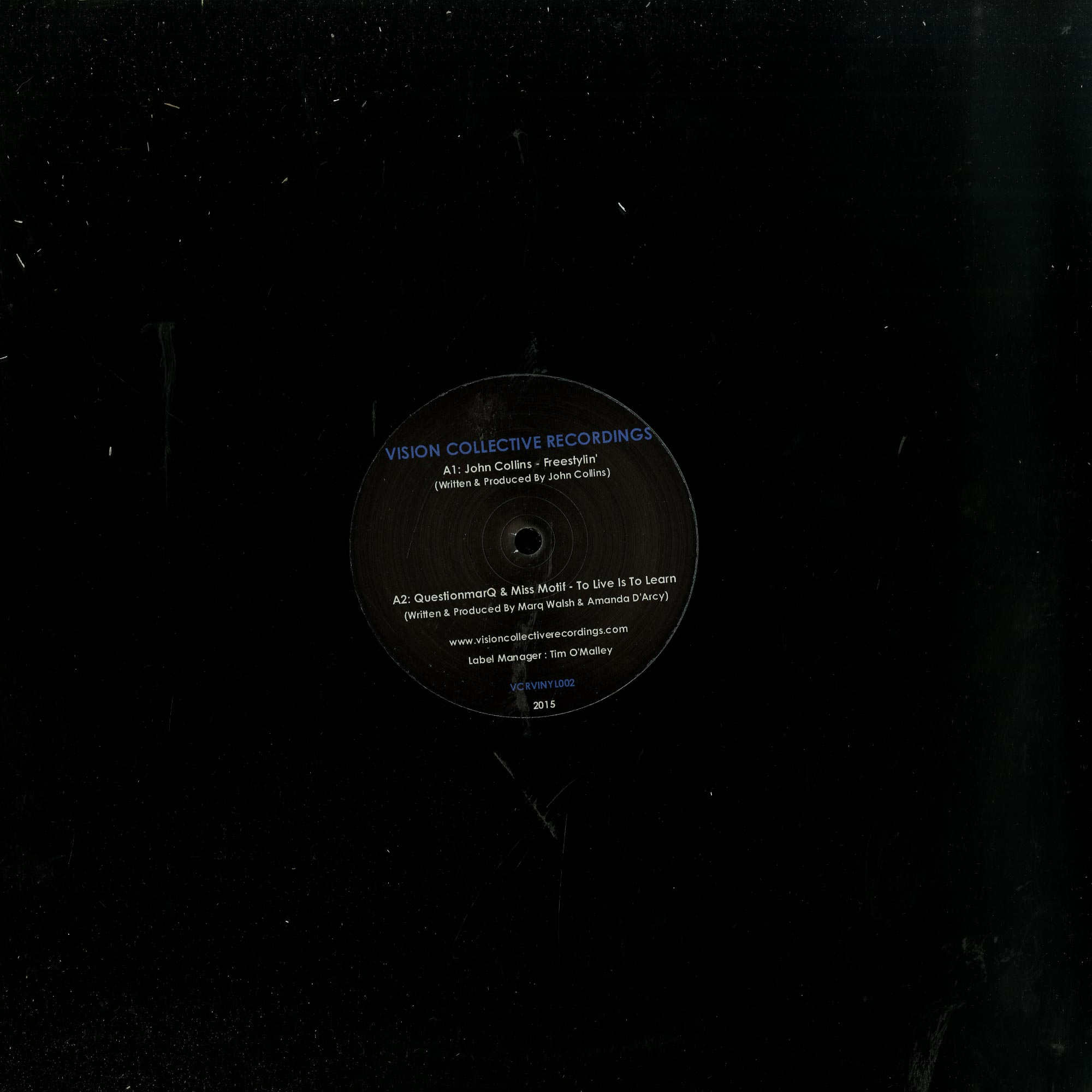 John Collins. Questionmarq. Mick Verma - THE PERCEPTION EP