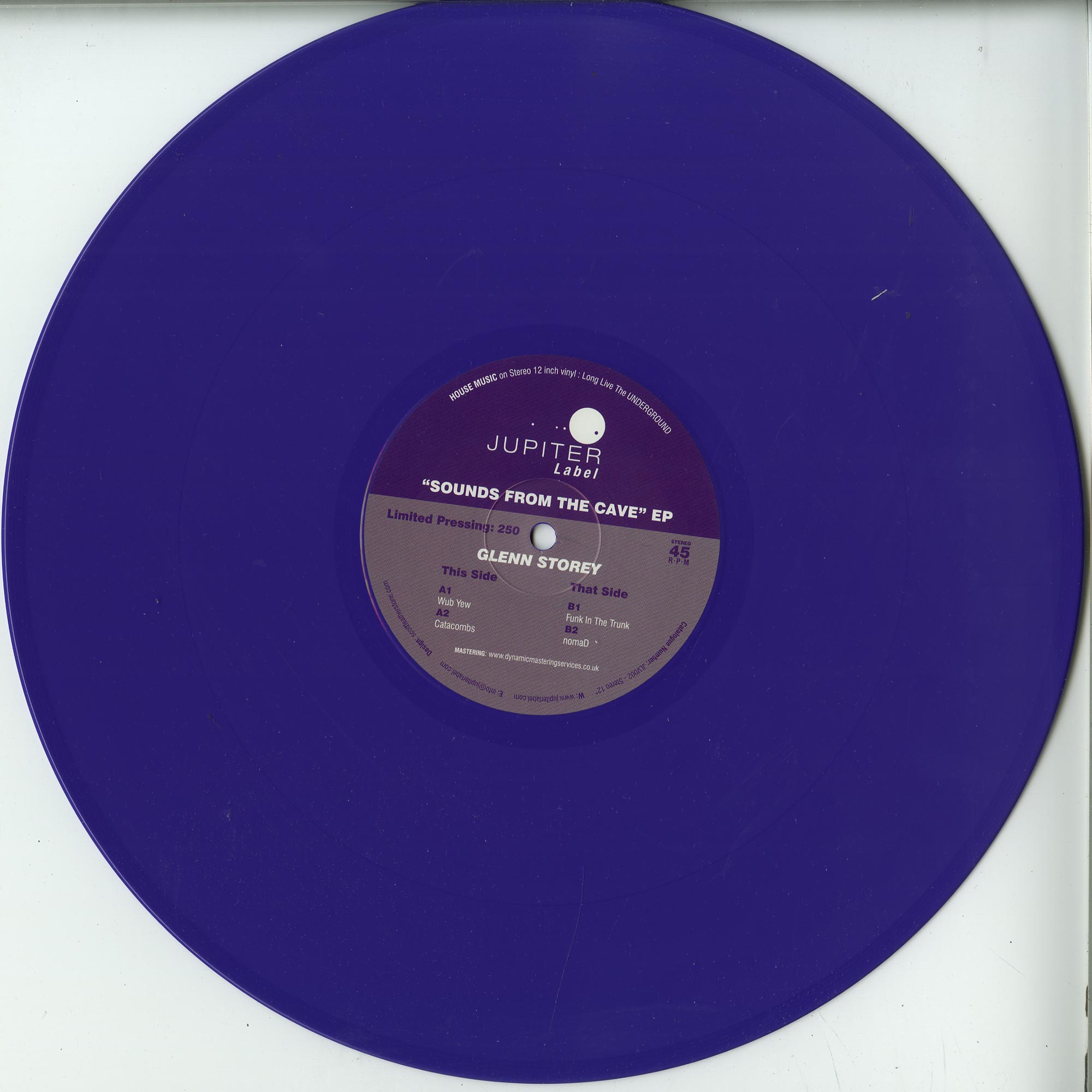Glenn Storey - SOUNDS FROM THE CAVE EP