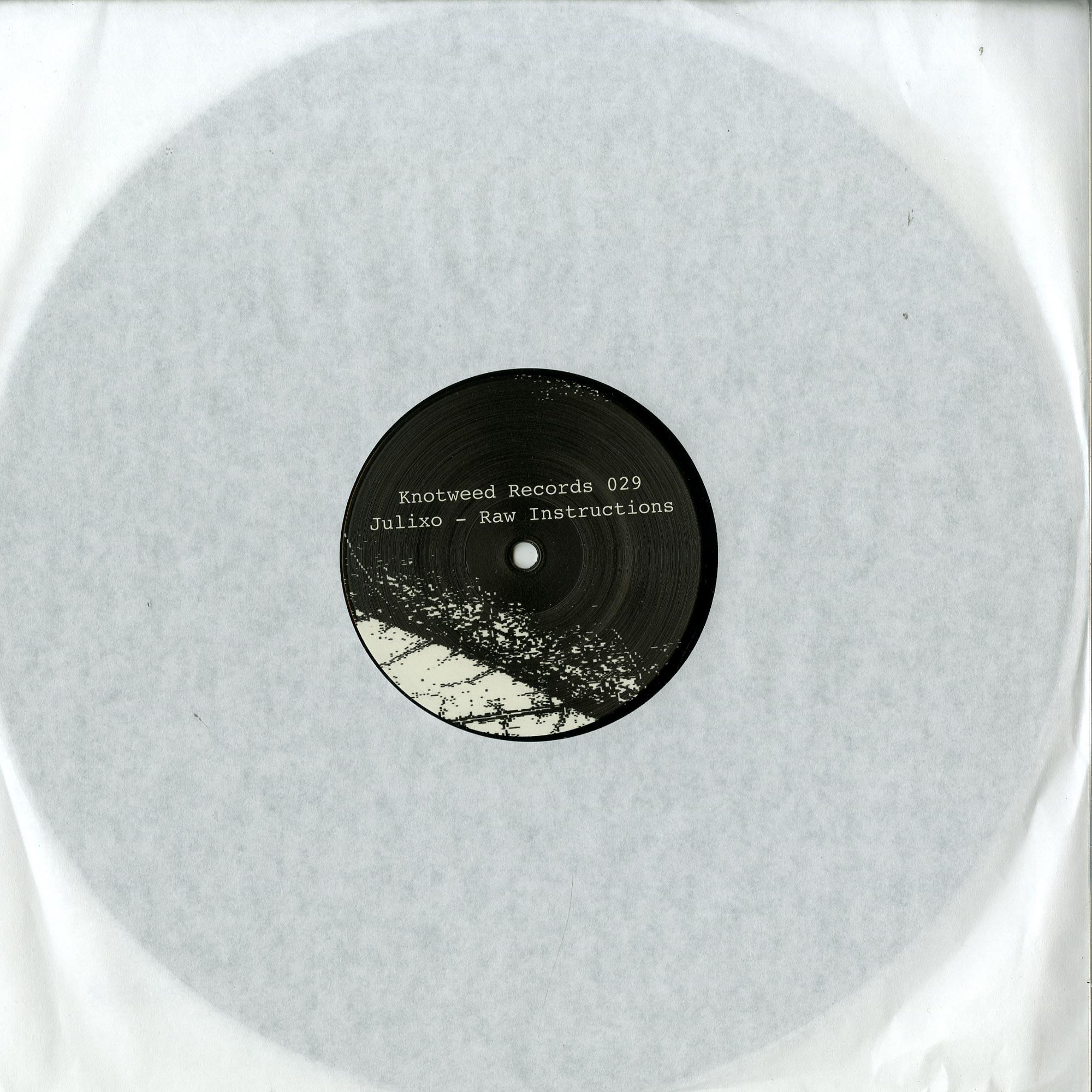 Julixo - RAW INSTRUCTIONS EP